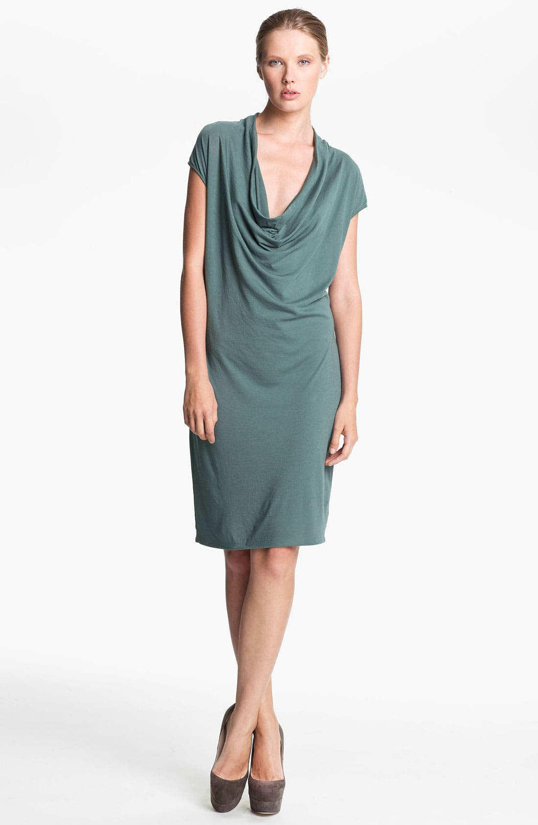 Main Image - HELMUT Helmut Lang Draped Jersey Dress