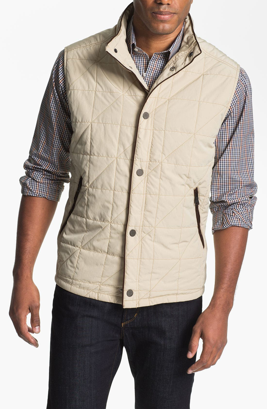 Alternate Image 1 Selected - Tommy Bahama 'Vestination' Quilted Vest