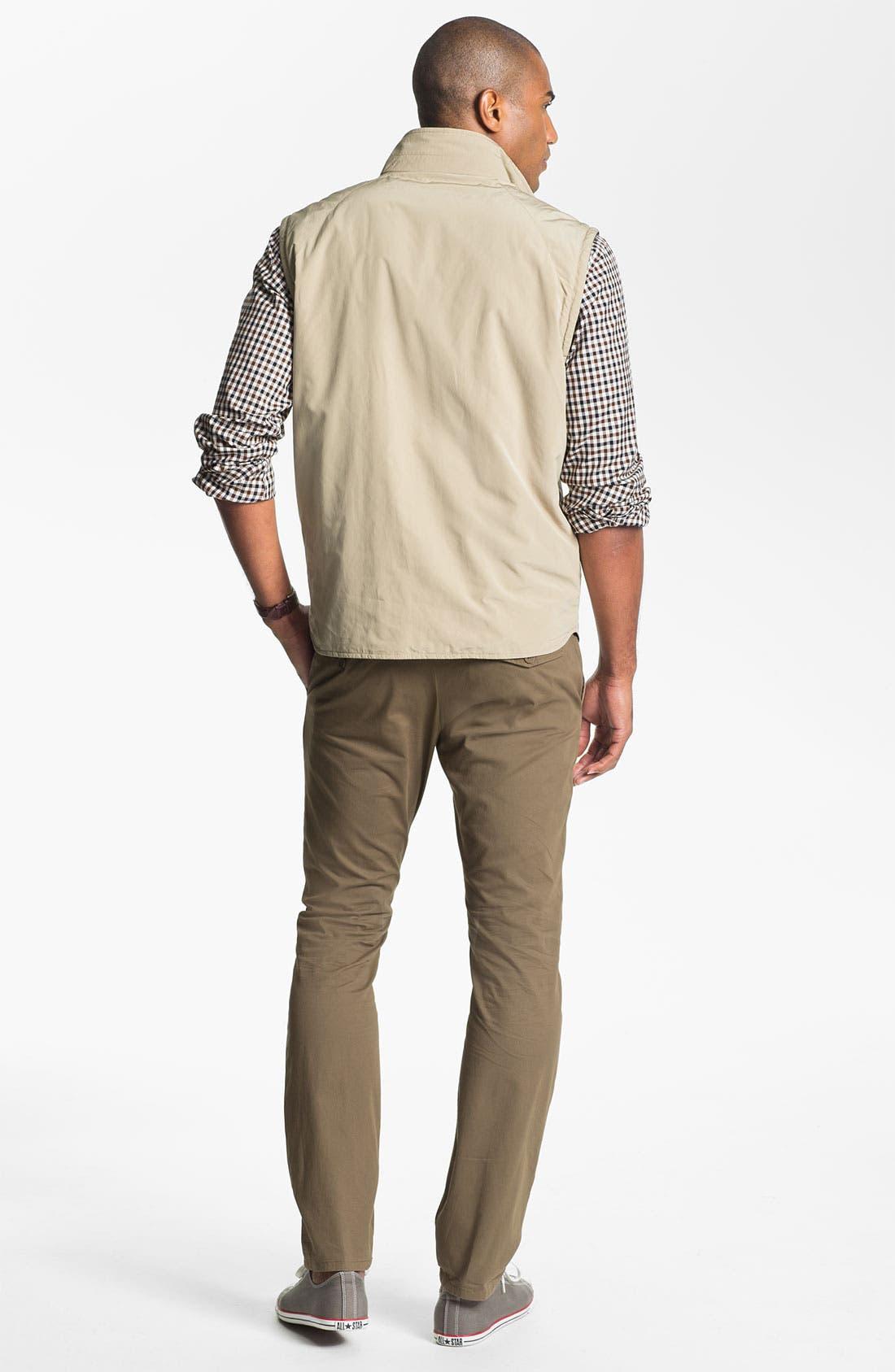 Alternate Image 6  - Façonnable Reversible Quilted Vest