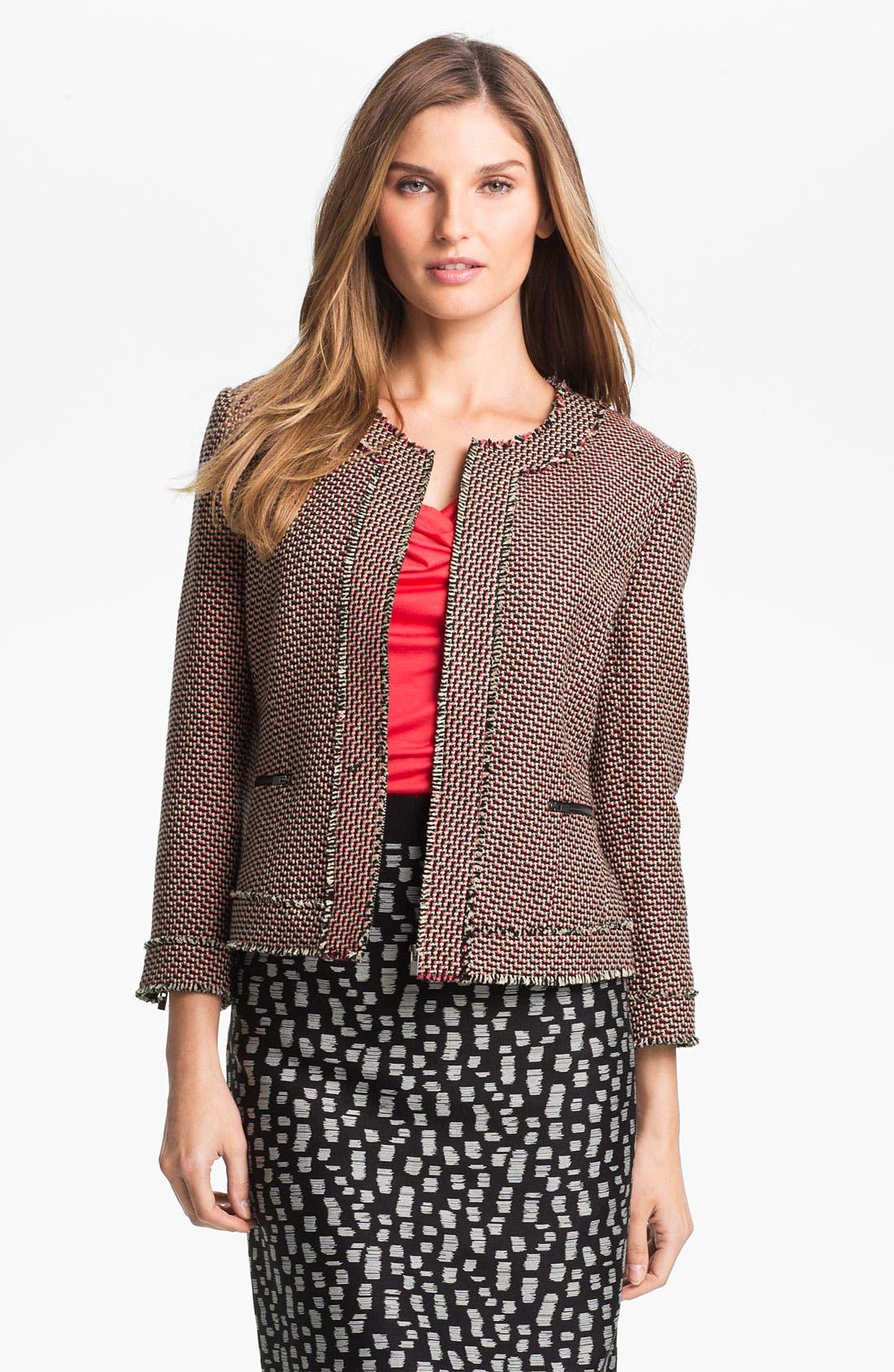Main Image - Classiques Entier® 'Venetto Zigzag' Jacket