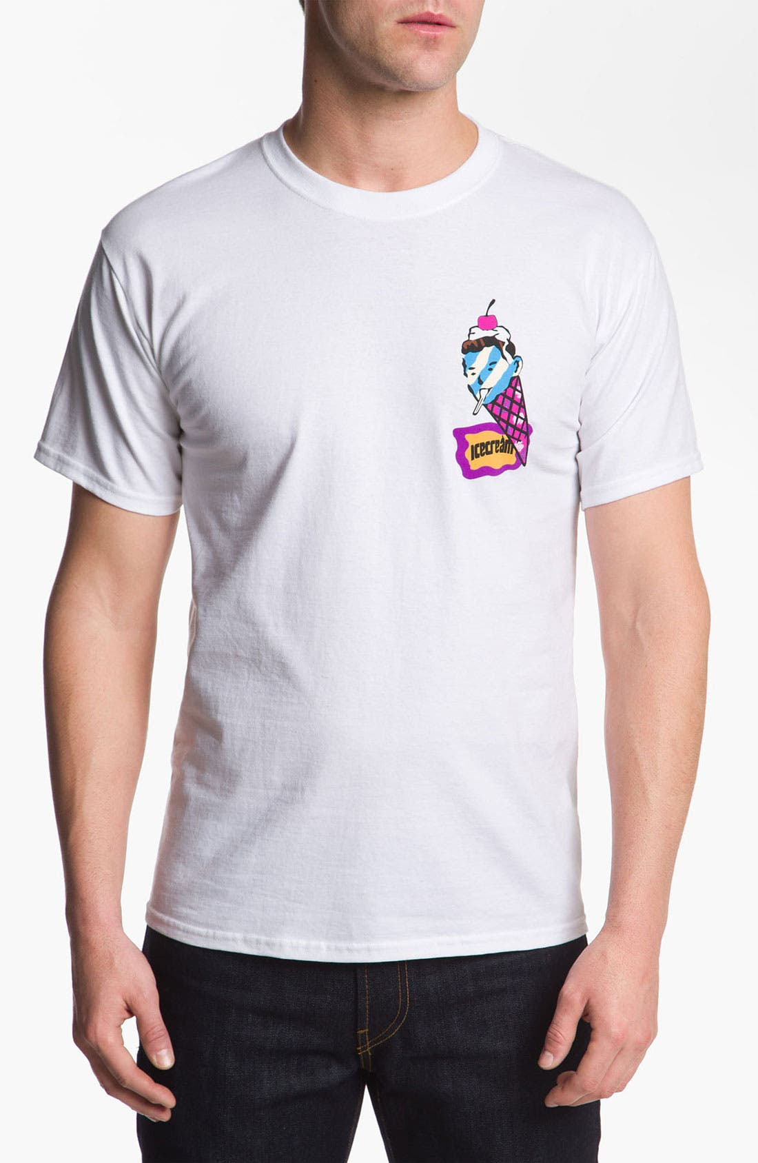 Alternate Image 1 Selected - Ice Cream 'Sundae' Short Sleeve T-Shirt