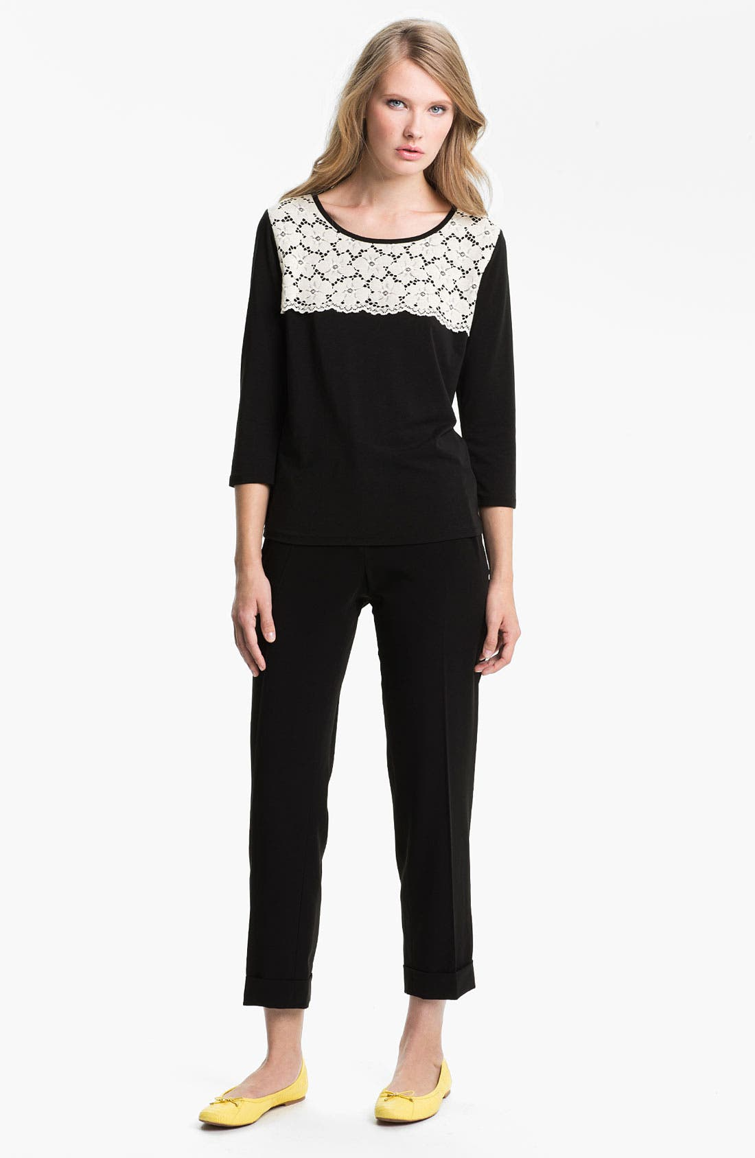 Alternate Image 4  - Weekend Max Mara 'Gerona' Slim Ankle Pants