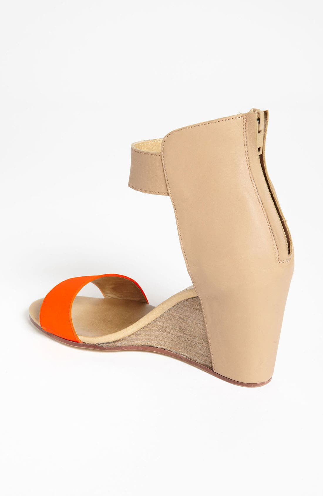 Alternate Image 2  - MM6 Maison Margiela Two Tone Wedge Sandal