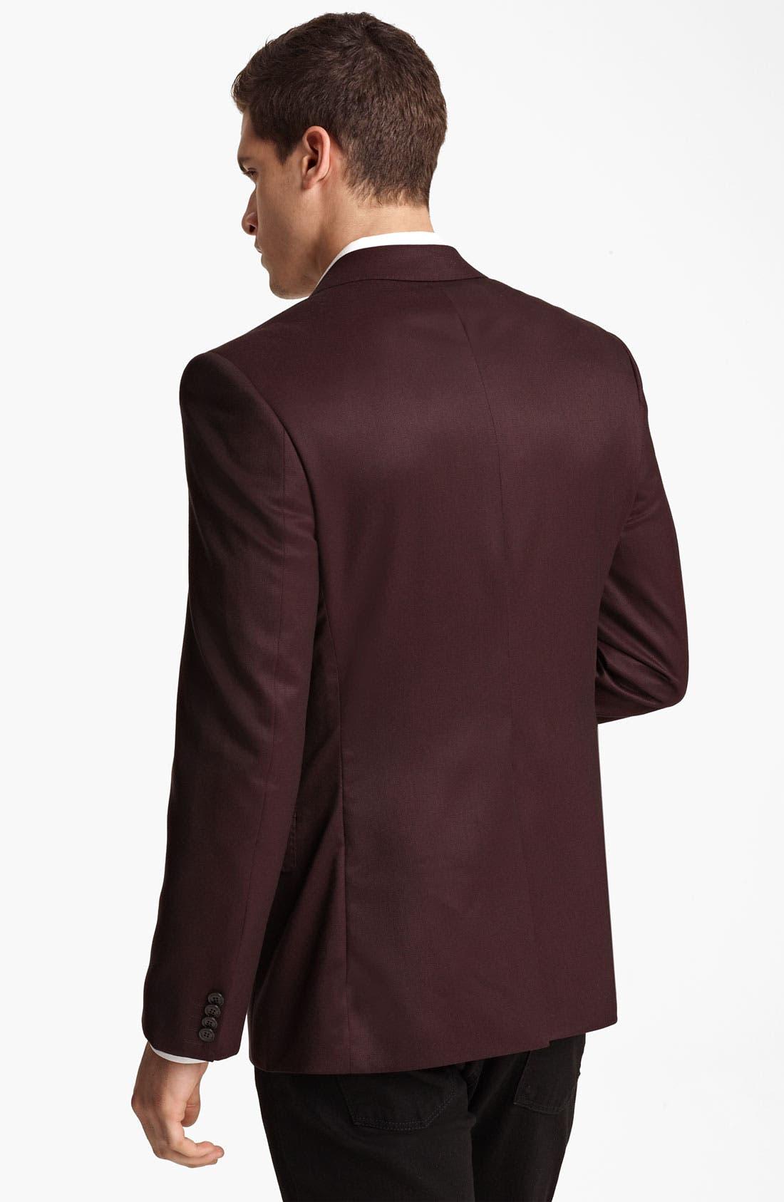 Alternate Image 2  - Versace Trim Fit Blazer
