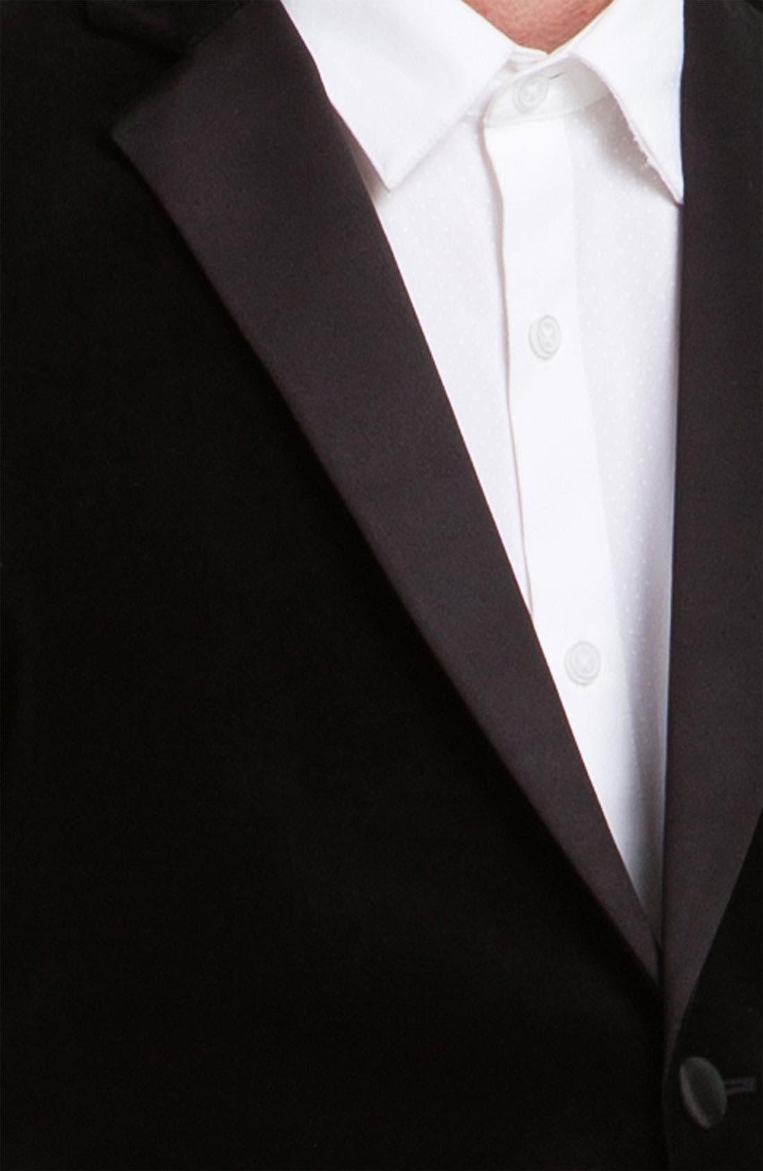 Alternate Image 2  - Topman Velvet Blazer