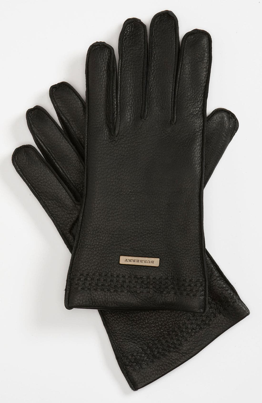 Main Image - Burberry 'Luca' Leather Gloves