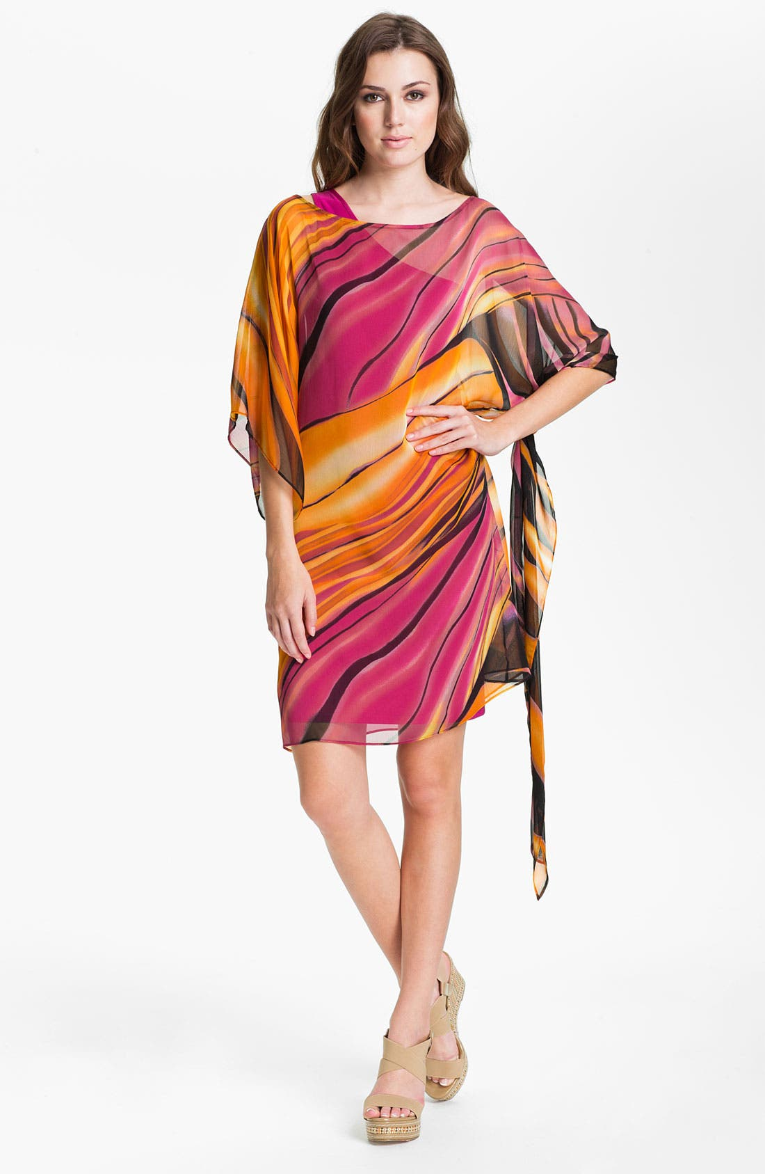 Main Image - Abi Ferrin 'Nicola' Convertible Chiffon Dress