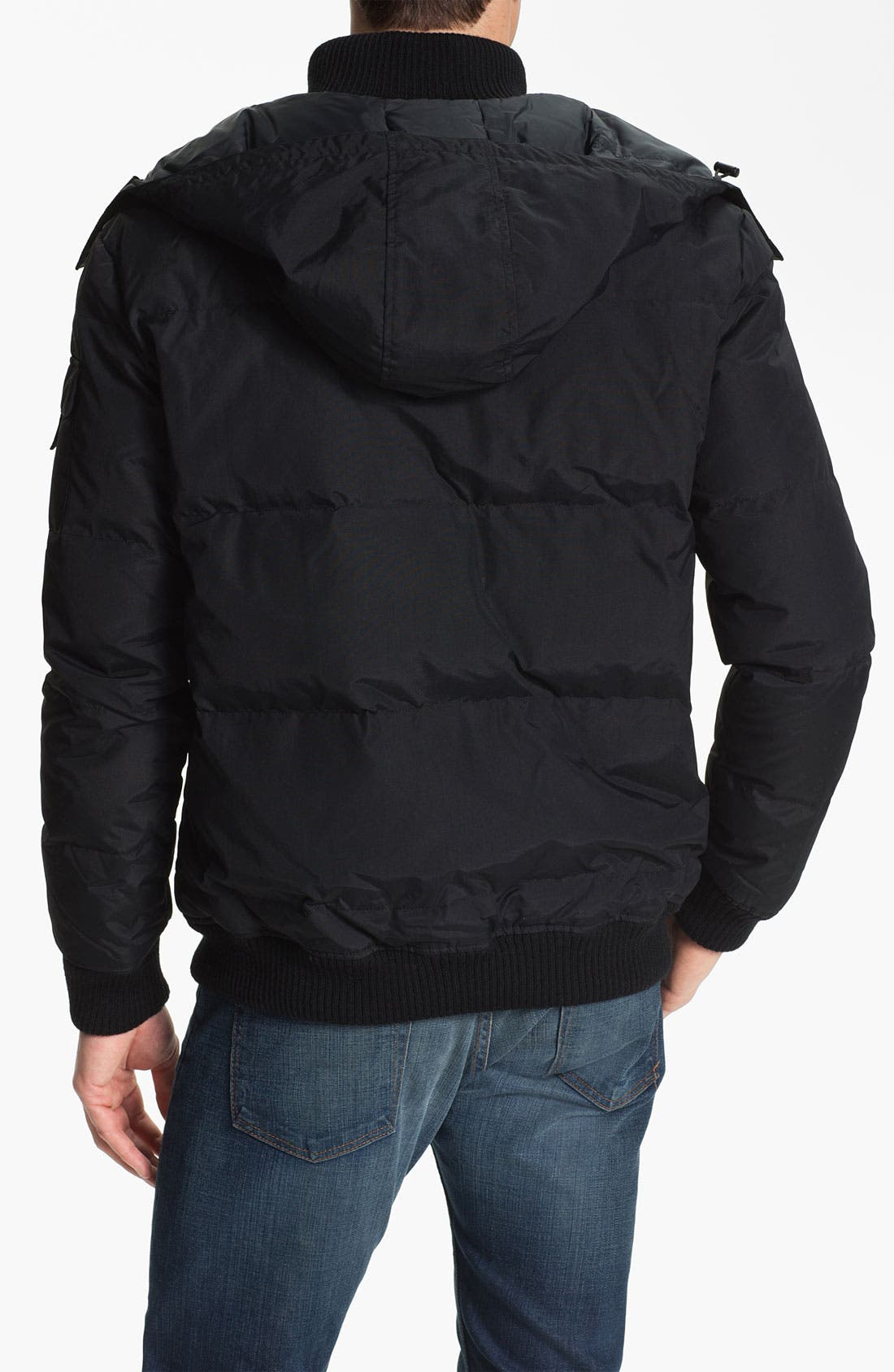 Alternate Image 2  - Lacoste Quilted Bomber Jacket