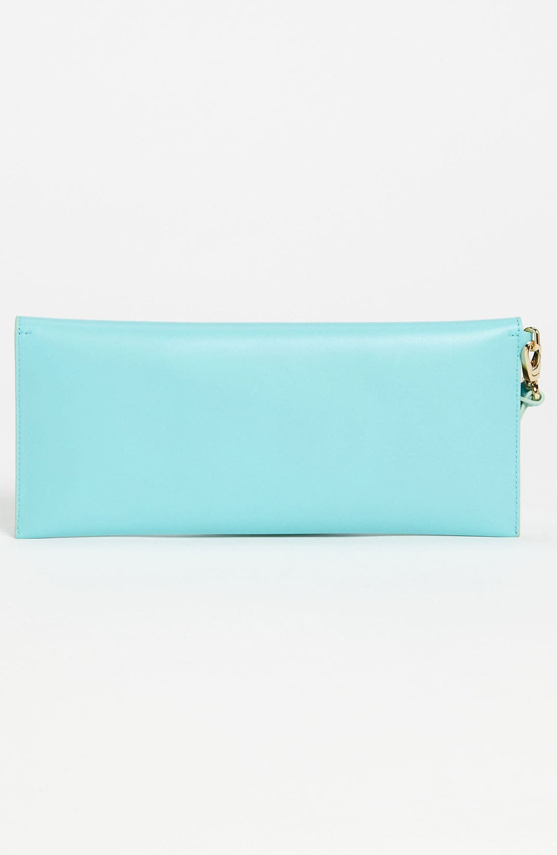 Alternate Image 4  - Salvatore Ferragamo 'Afef' Leather Envelope Clutch