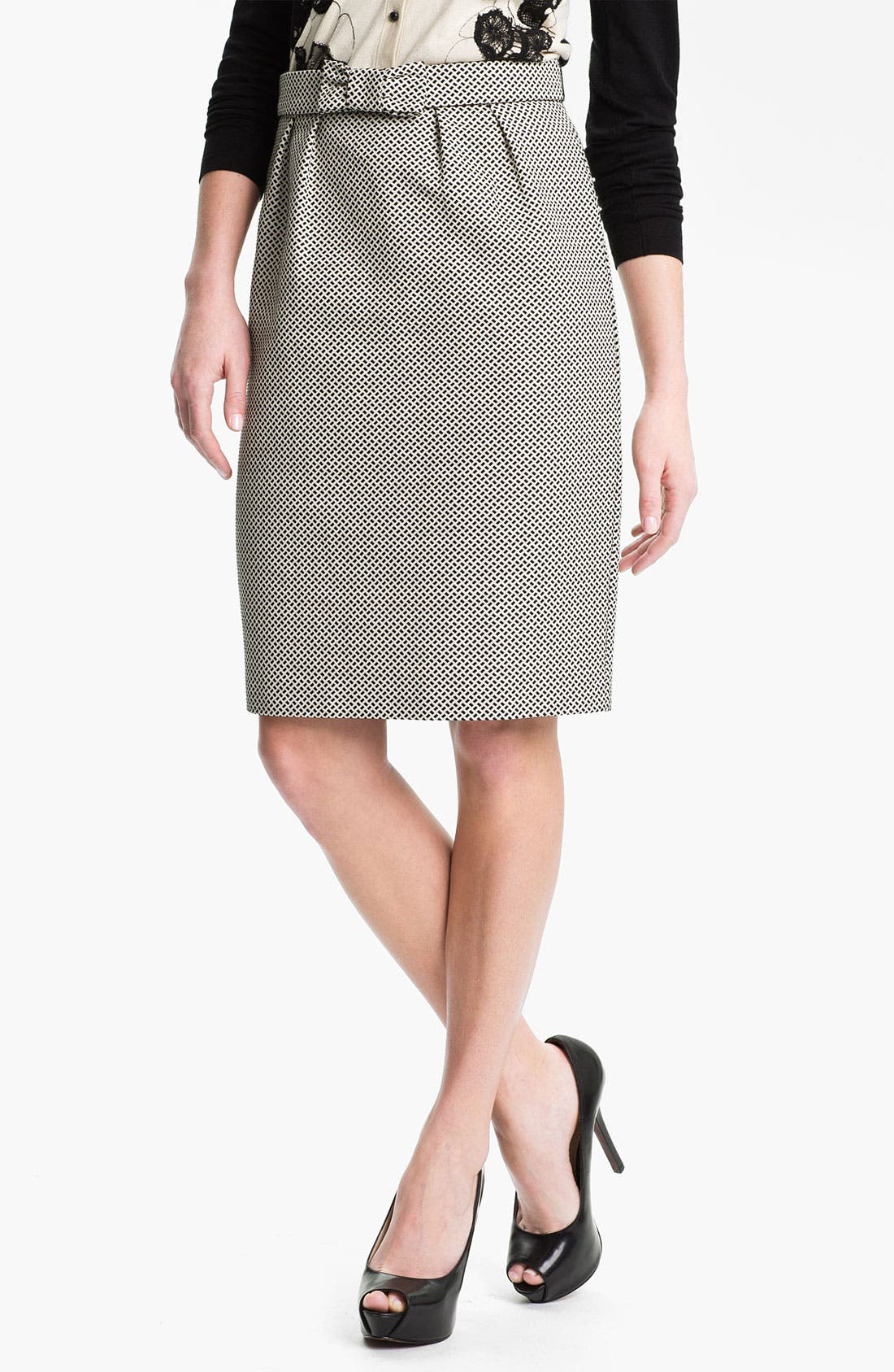 Alternate Image 1 Selected - Weekend Max Mara 'Cesira' Bow Front Skirt