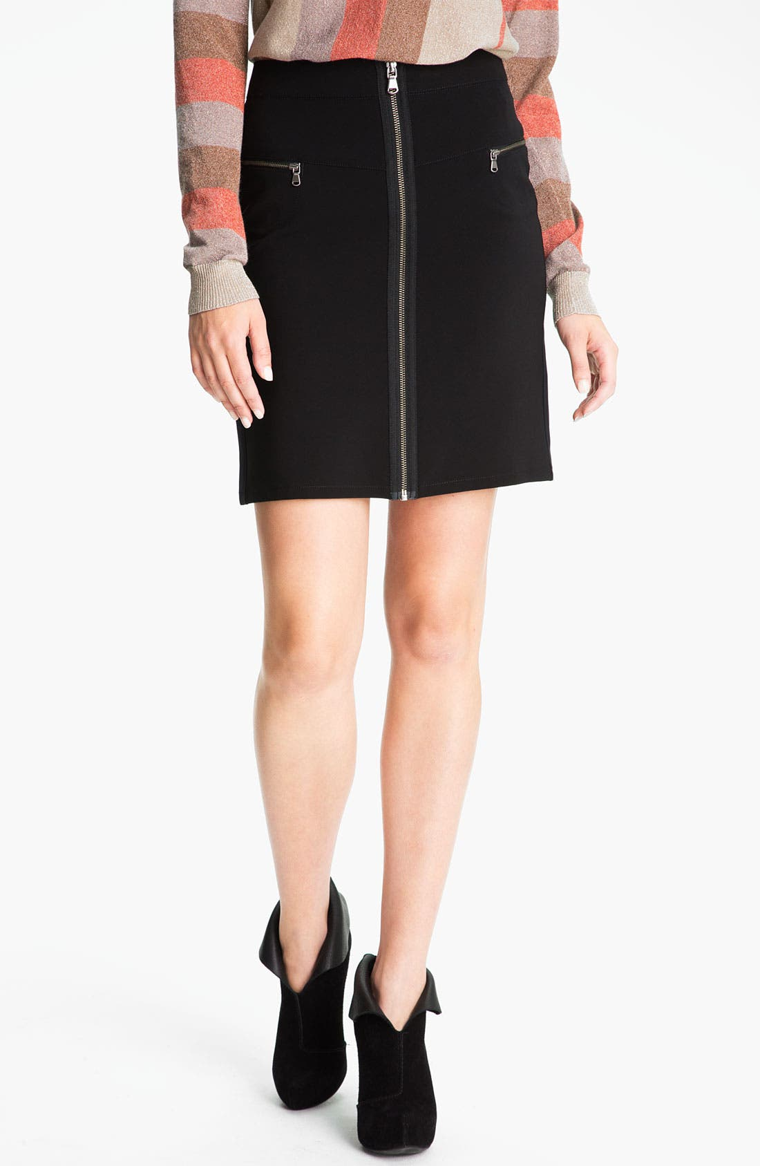 Main Image - MARC BY MARC JACOBS 'Bryant' Zip Skirt