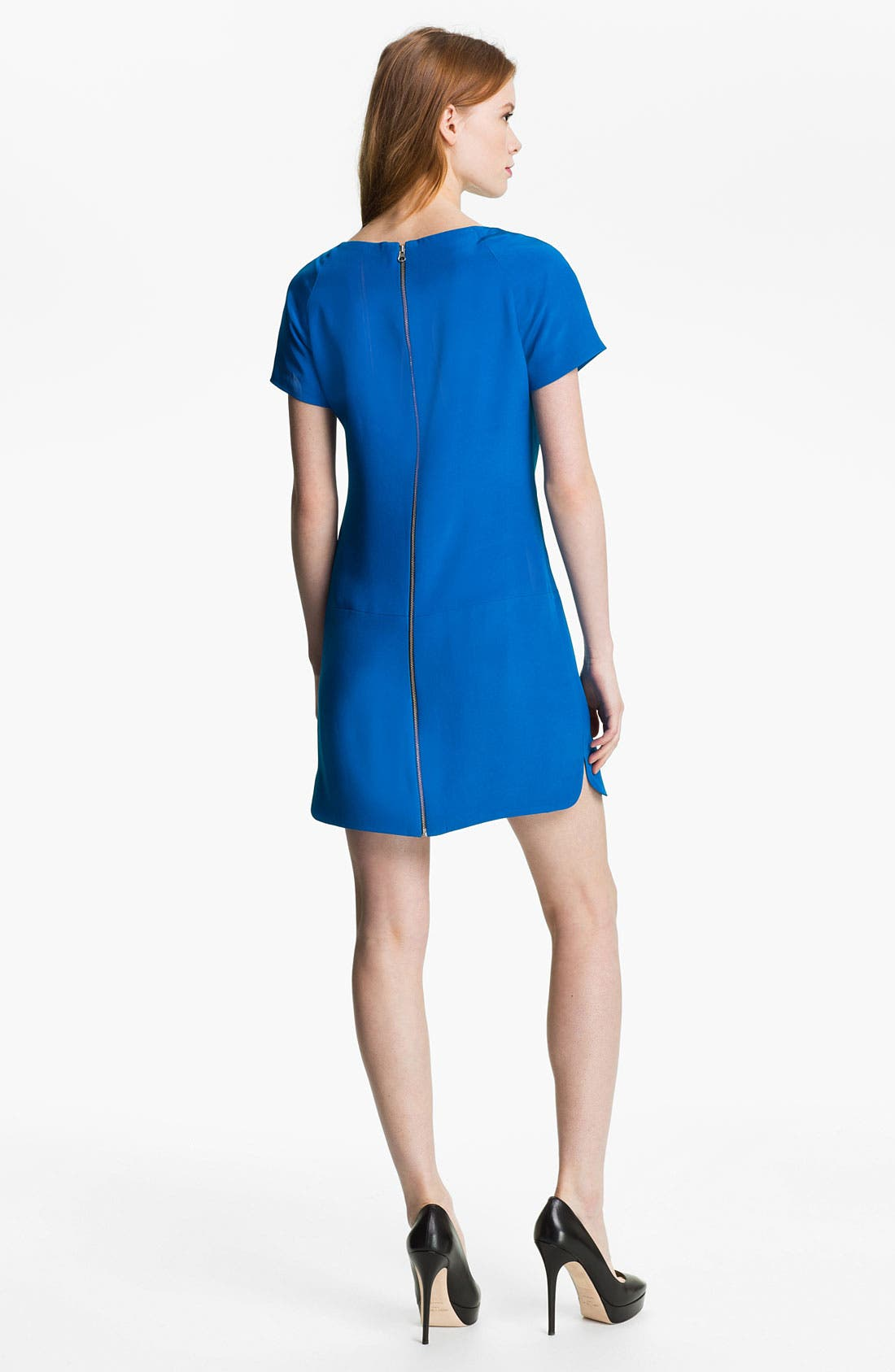 Alternate Image 2  - Rebecca Minkoff 'Rick' Colorblock Silk Dress