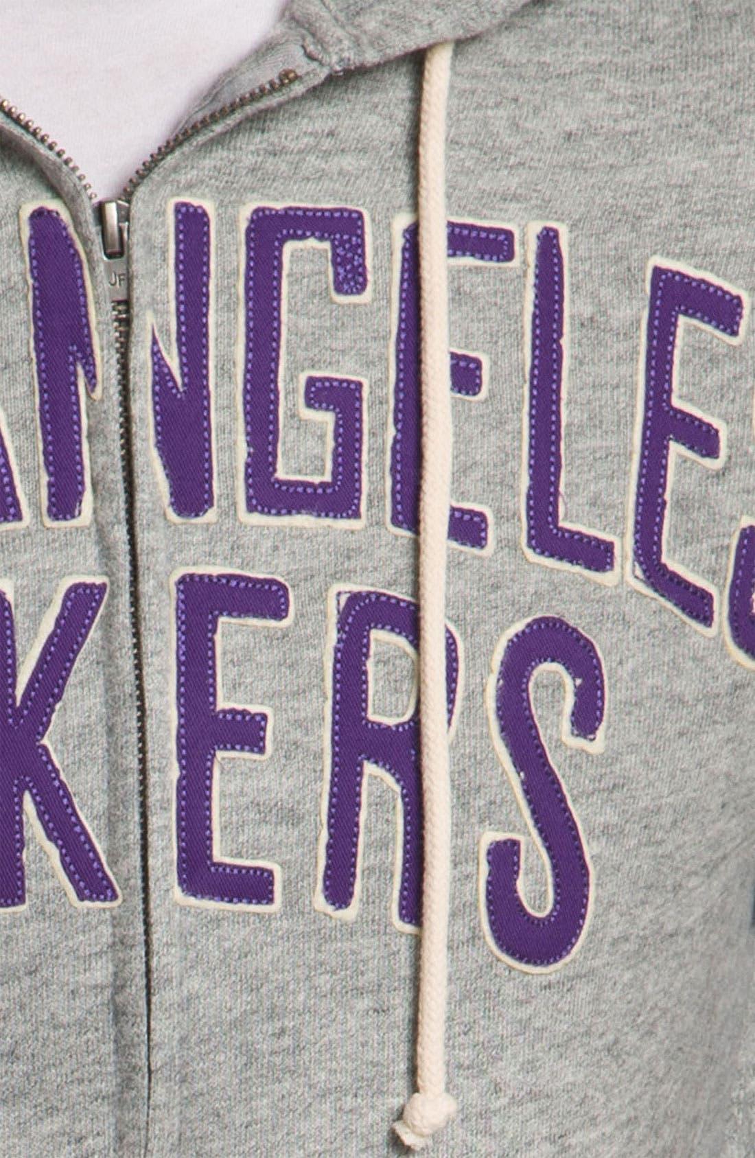 Alternate Image 3  - Junk Food 'Los Angeles Lakers' Hoodie