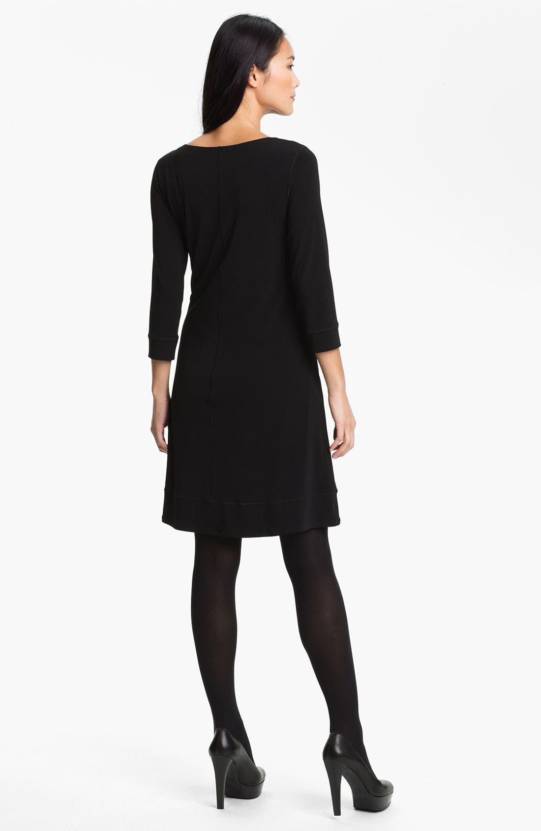 Alternate Image 2  - Eva Varro Print Front Dress (Online Only)