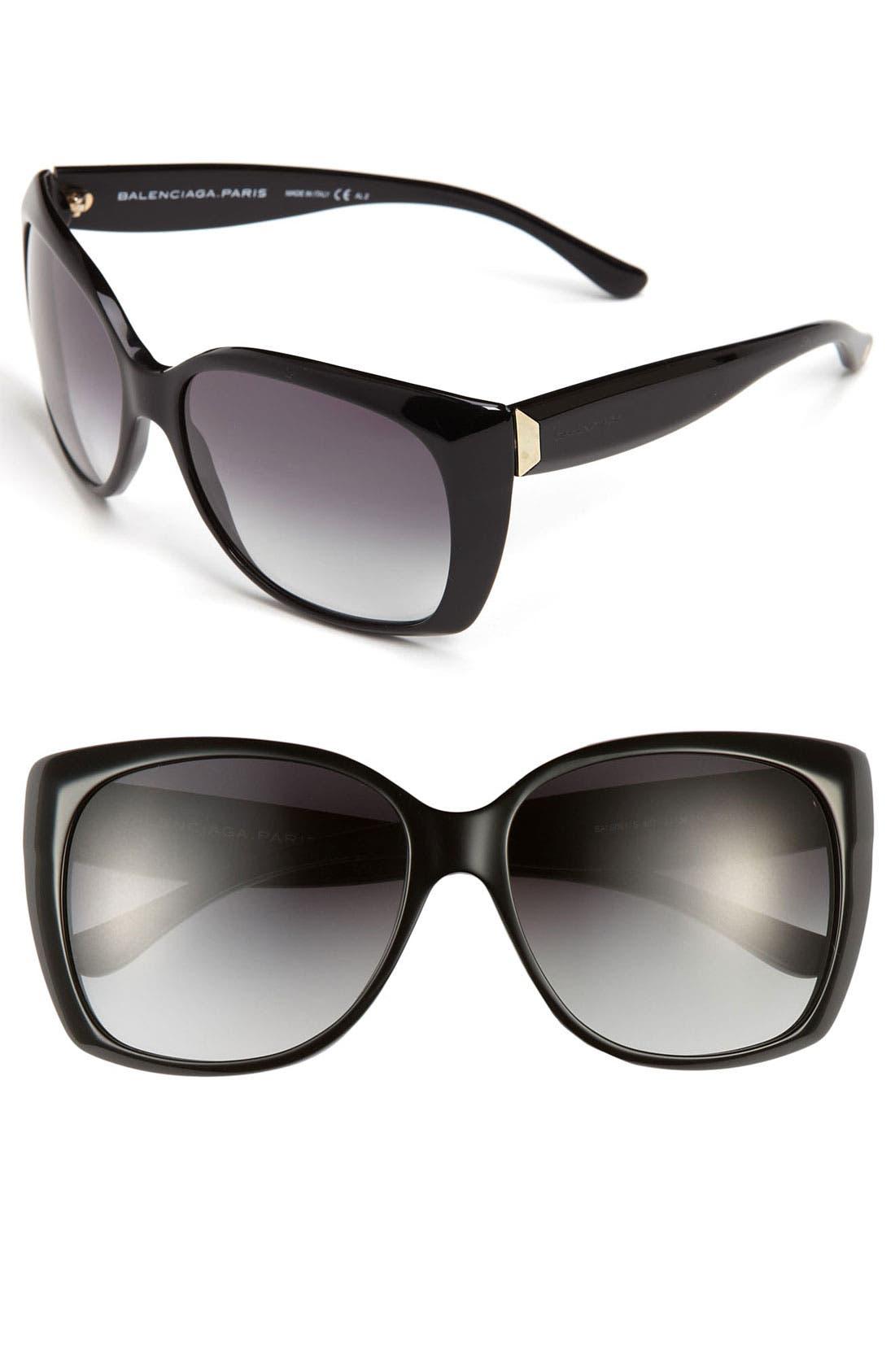 Alternate Image 1 Selected - Balenciaga Paris Cat's Eye Sunglasses