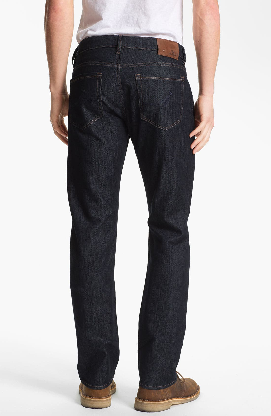 Alternate Image 2  - 34 Heritage 'Courage' Straight Leg Jeans (Rinse Mercerized) (Online Only)