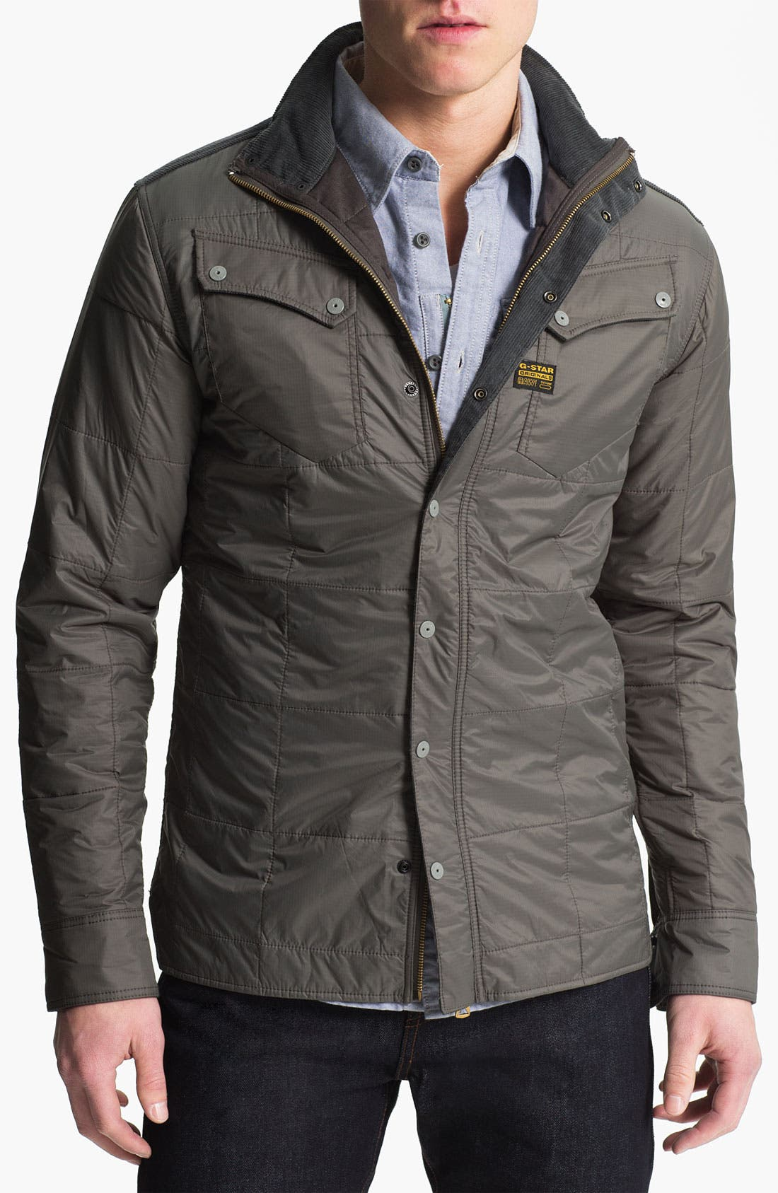 Alternate Image 1 Selected - G-Star Raw 'Ski' Quilted Jacket