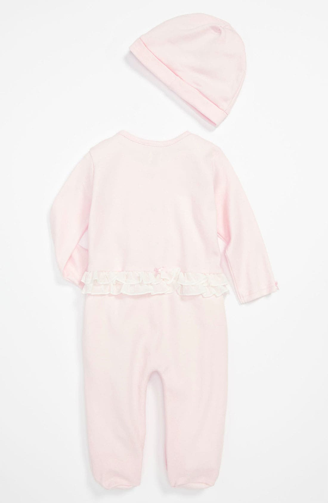 Alternate Image 2  - Miniclasix Footie & Hat (Infant)