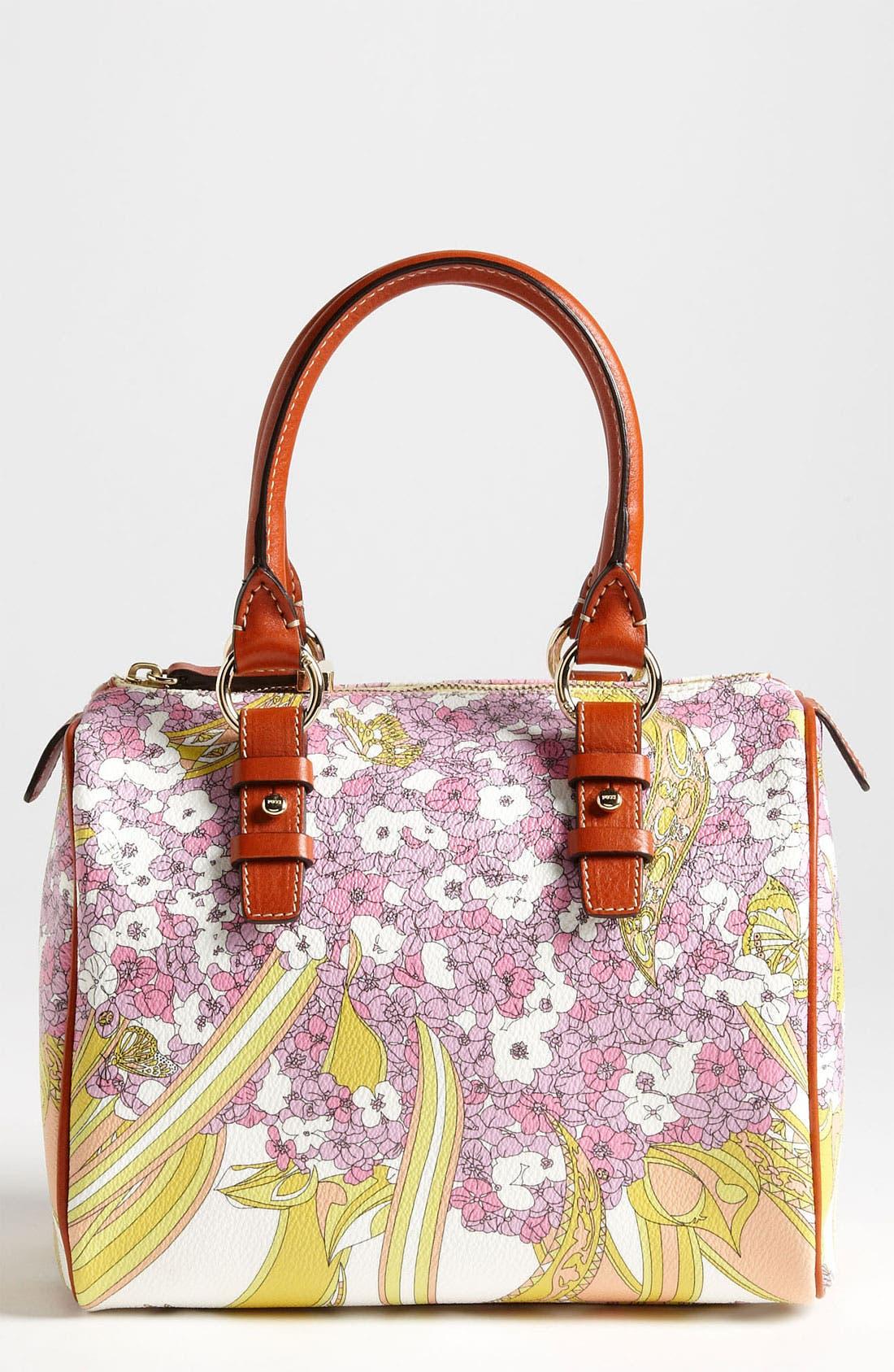 Alternate Image 1 Selected - Emilio Pucci 'Small' Boston Bag