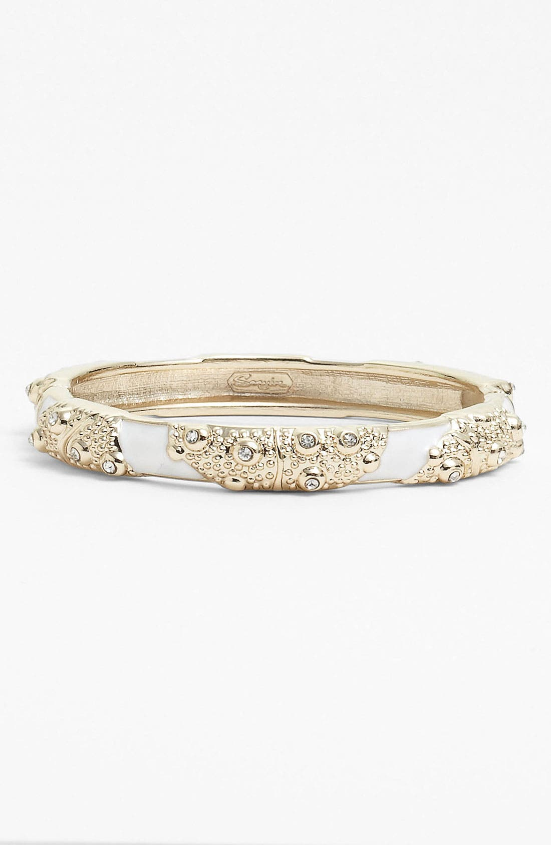 Main Image - Sequin 'Sea Urchin' Hinged Bangle