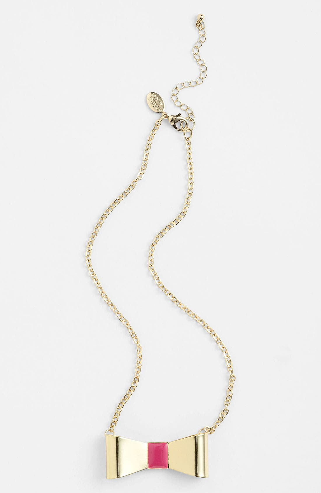 Main Image - Spring Street 'Short Bow' Necklace