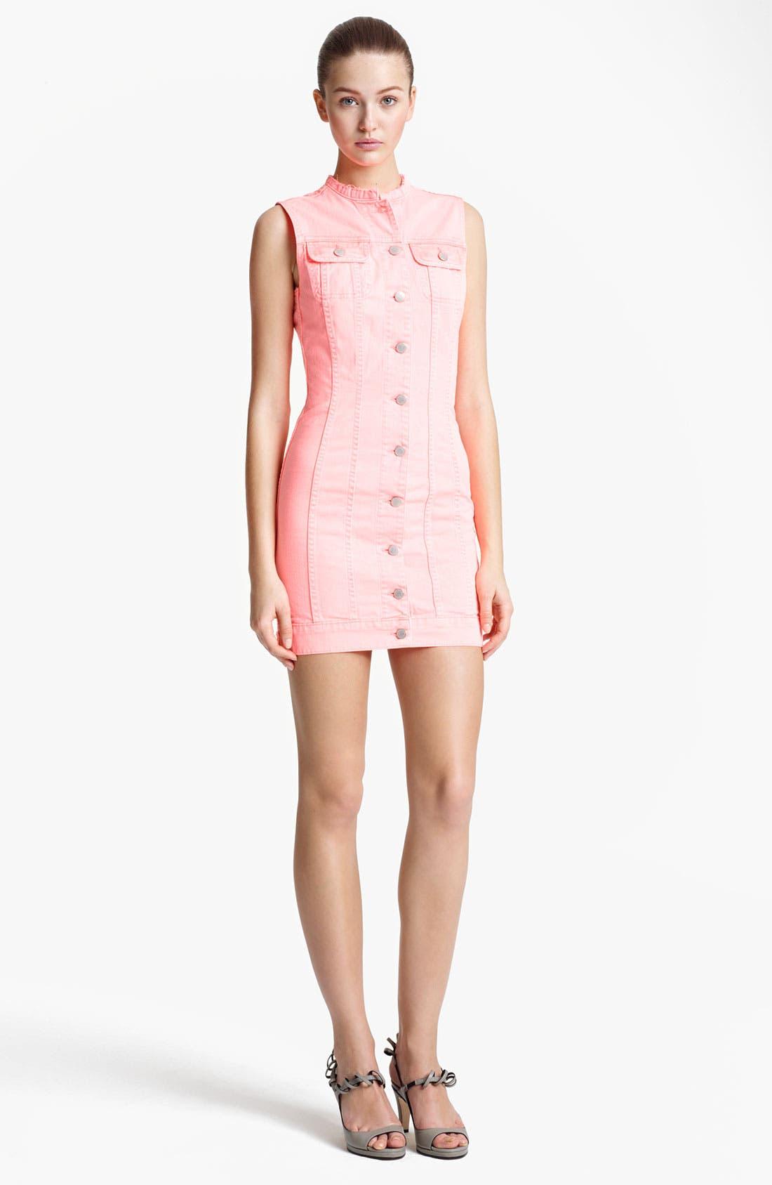 Alternate Image 1 Selected - J Brand + Christopher Kane Denim Dress