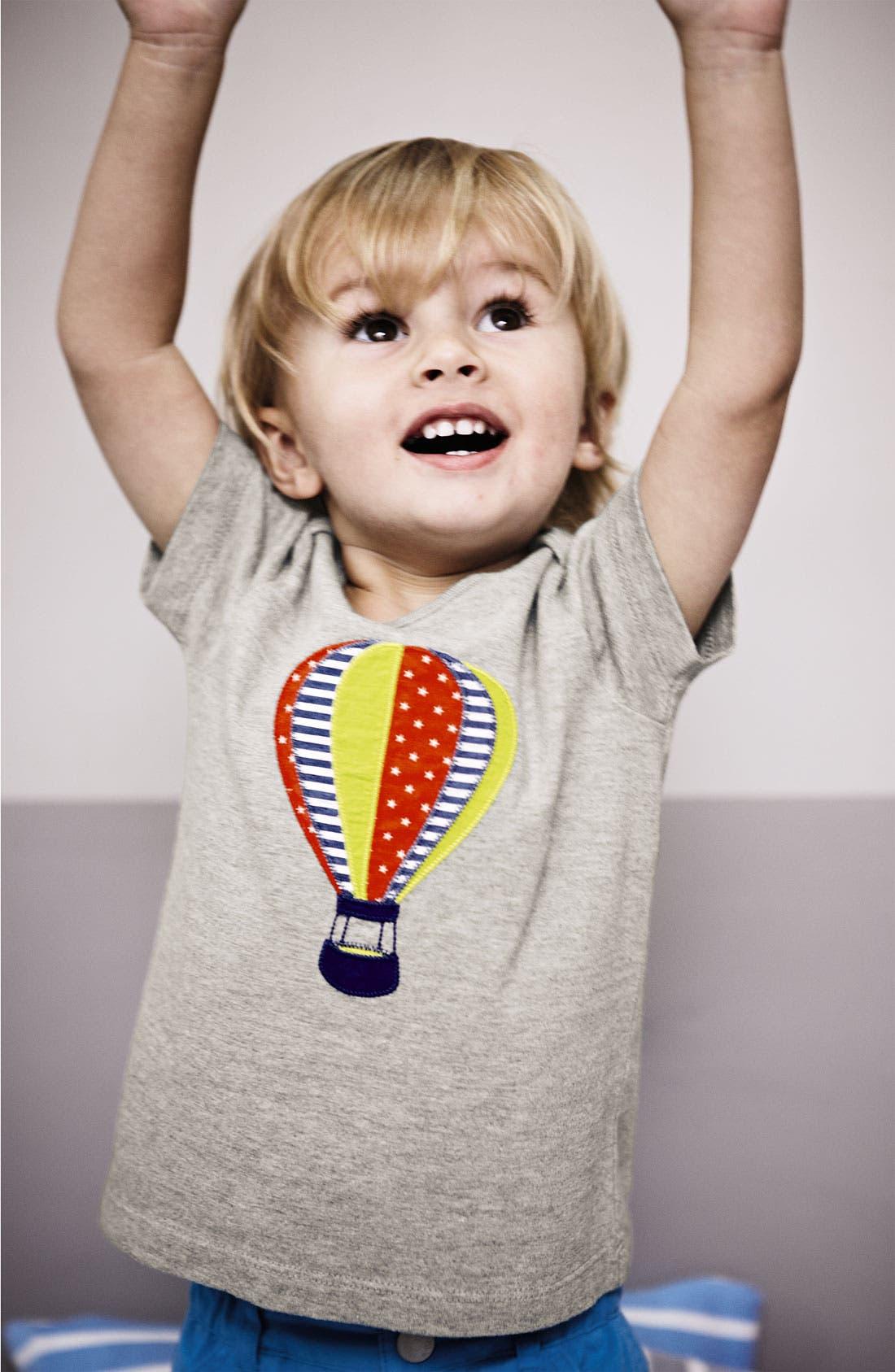 Alternate Image 2  - Mini Boden 'Vehicle Appliqué' T-Shirt (Baby)