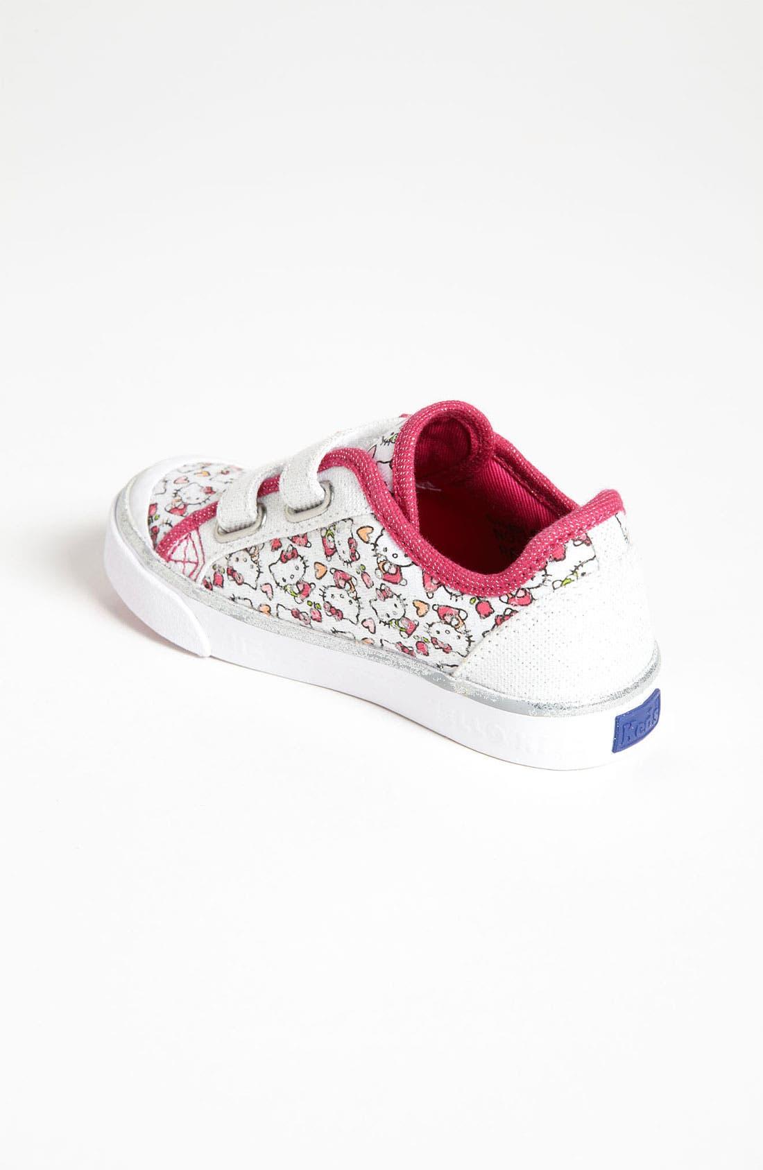 Alternate Image 2  - Keds® 'Scribble Kitty' Sneaker (Walker & Toddler)