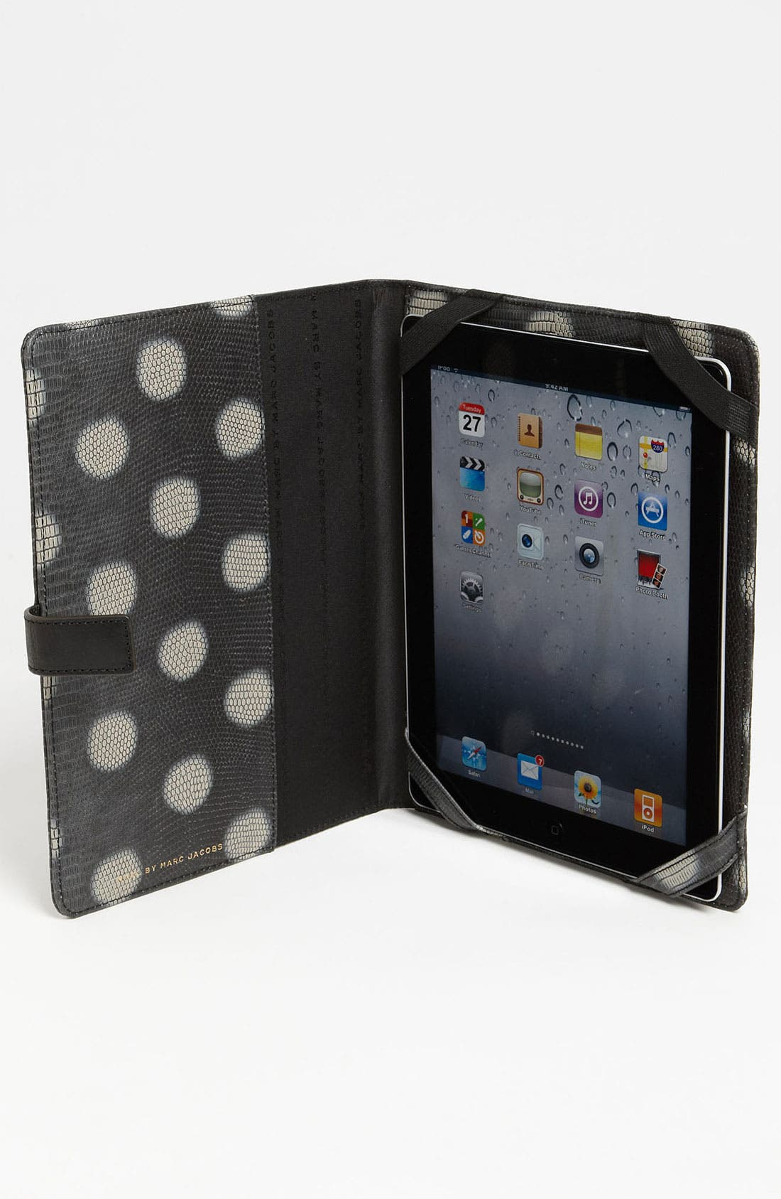 Alternate Image 3  - MARC BY MARC JACOBS 'Take Me - Lizzie Dots' Embossed iPad Case