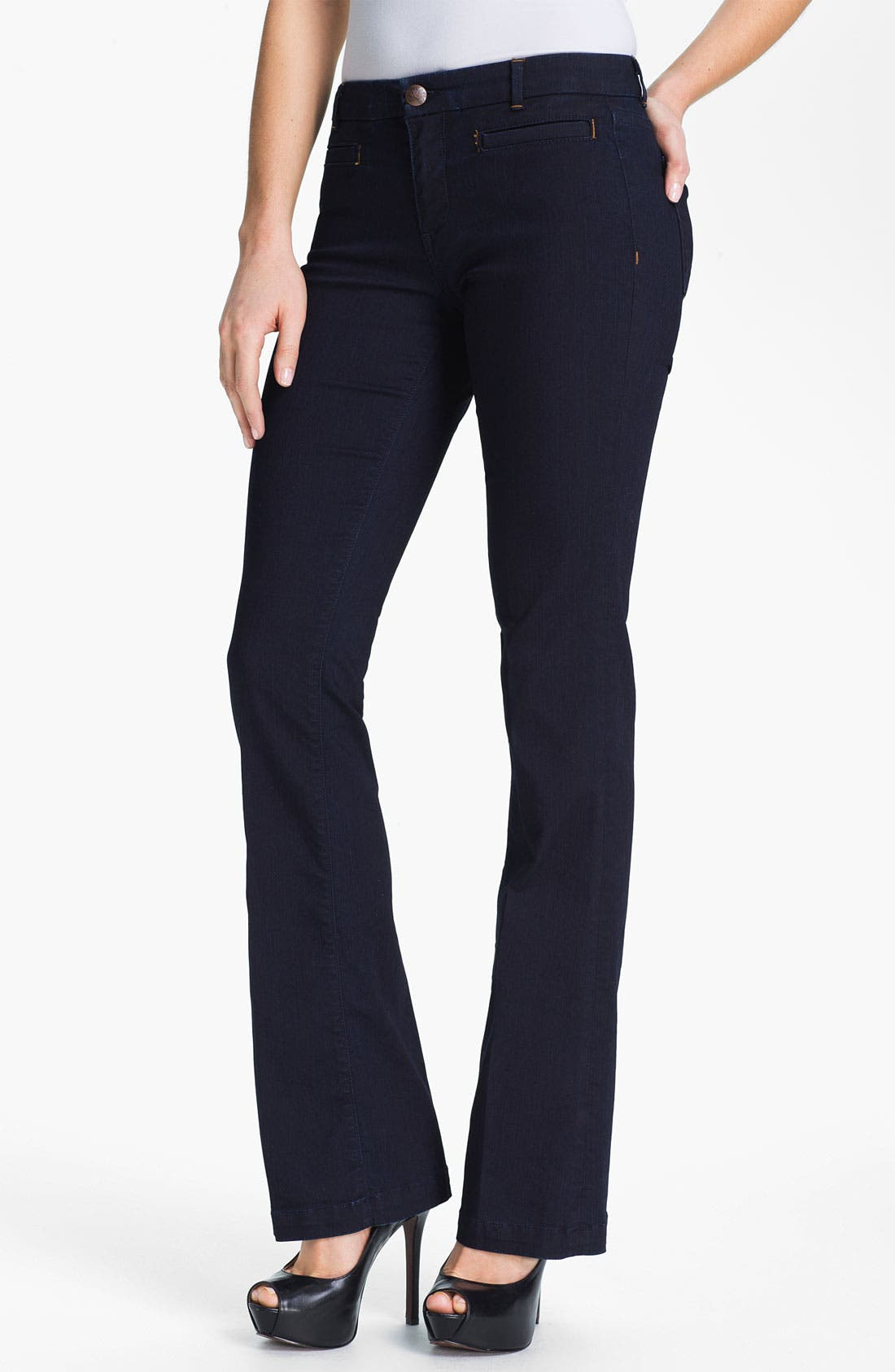 Alternate Image 1 Selected - Agave 'Fortuna' Trouser Jeans (Lookout) (Online Exclusive)