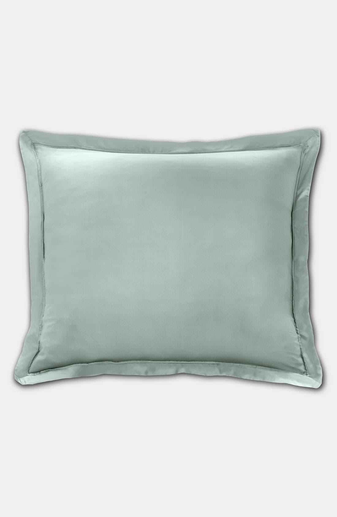 Main Image - Donna Karan 'Lustre Seam' Euro Pillow Sham