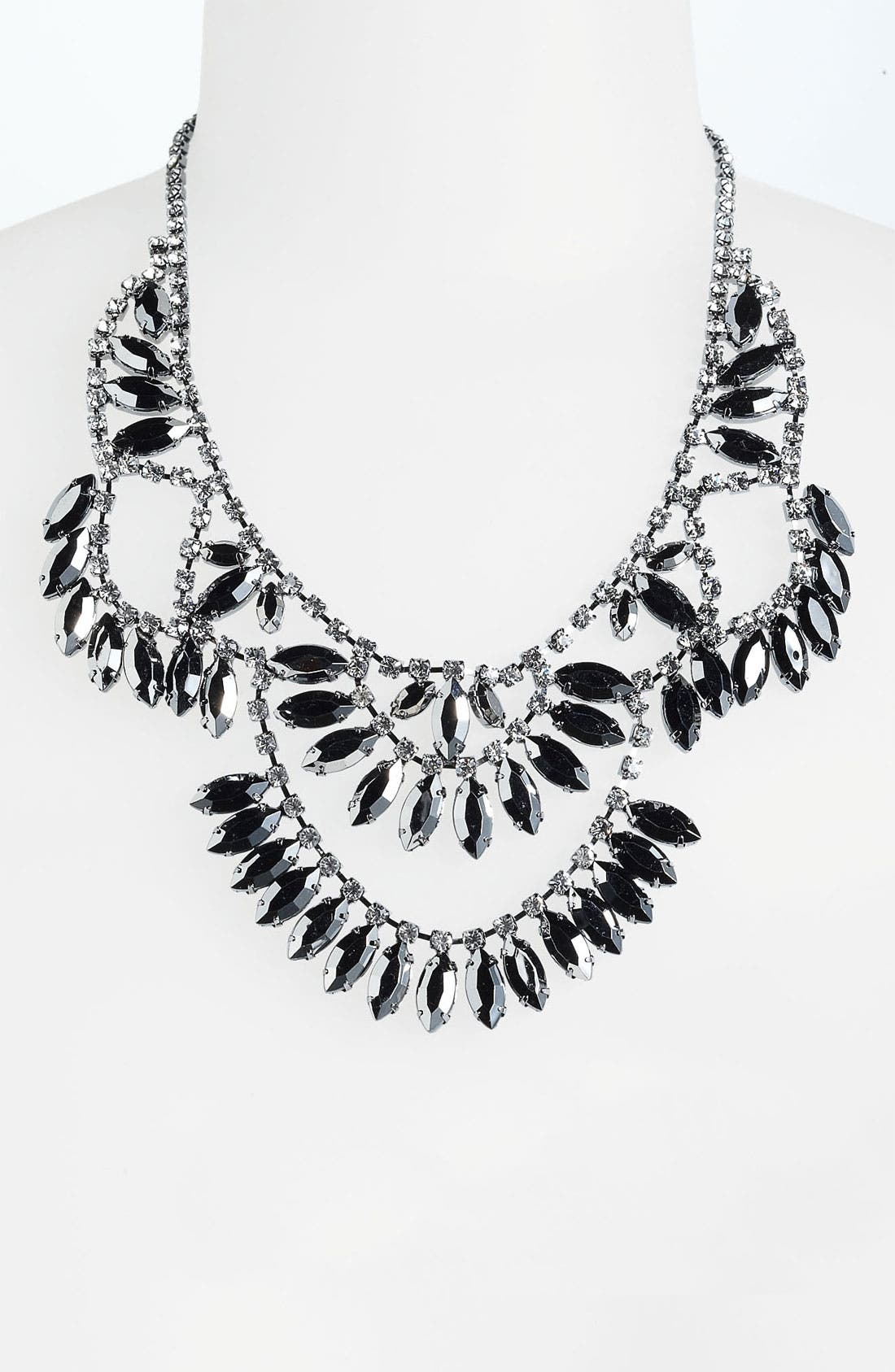 Alternate Image 1 Selected - BP. Rhinestone Statement Necklace