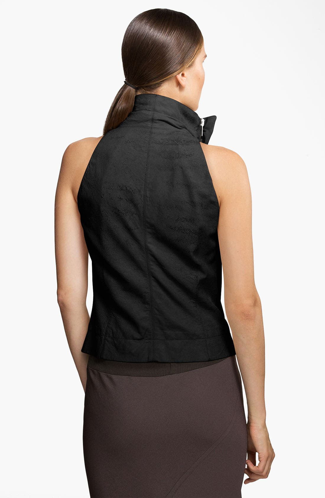Alternate Image 2  - Rick Owens Blistered & Waxed Leather Vest