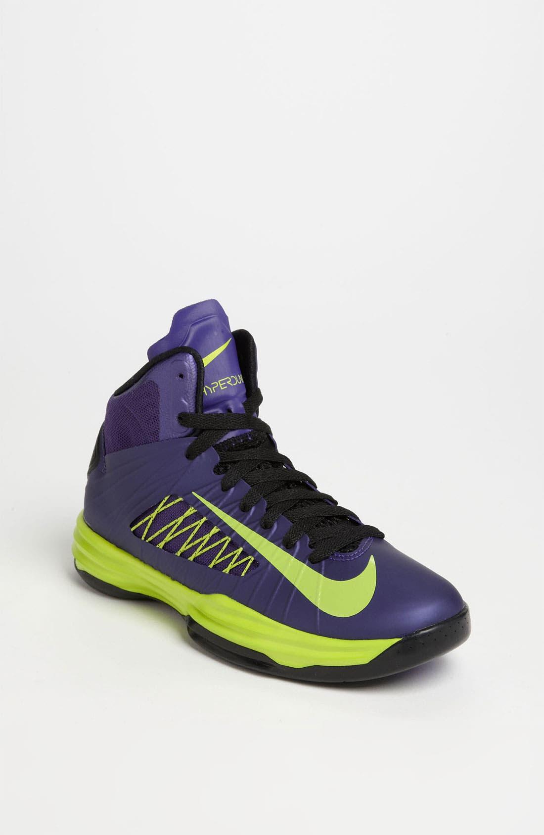Alternate Image 1 Selected - Nike 'Lunar Hyperdunk' Basketball Shoe (Big Kid)