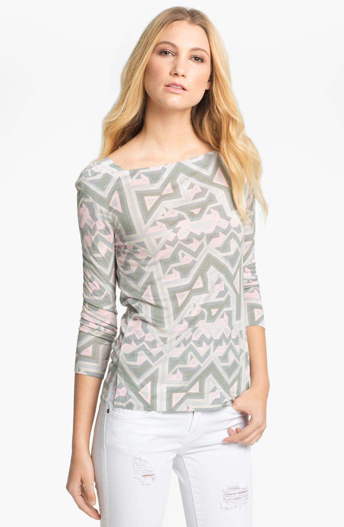 Main Image - MARC BY MARC JACOBS 'Mazey' Print Top