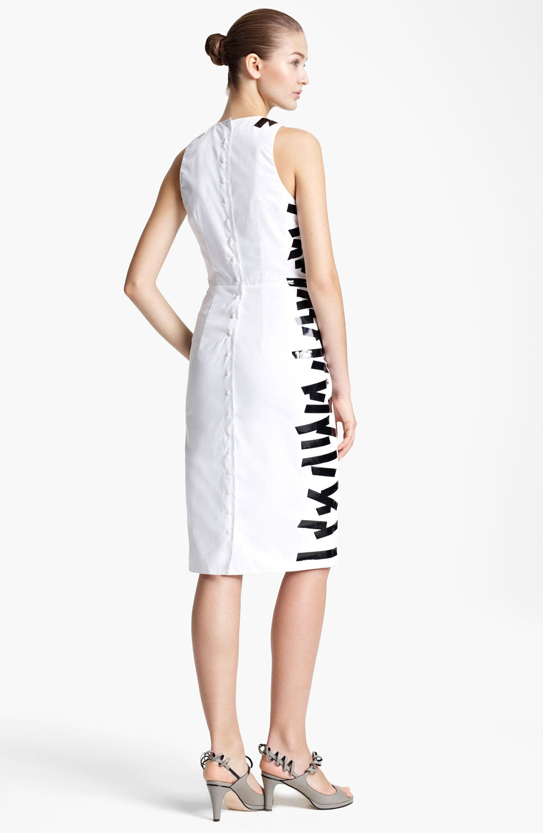 Alternate Image 2  - Christopher Kane Tape Detail Sheath Dress