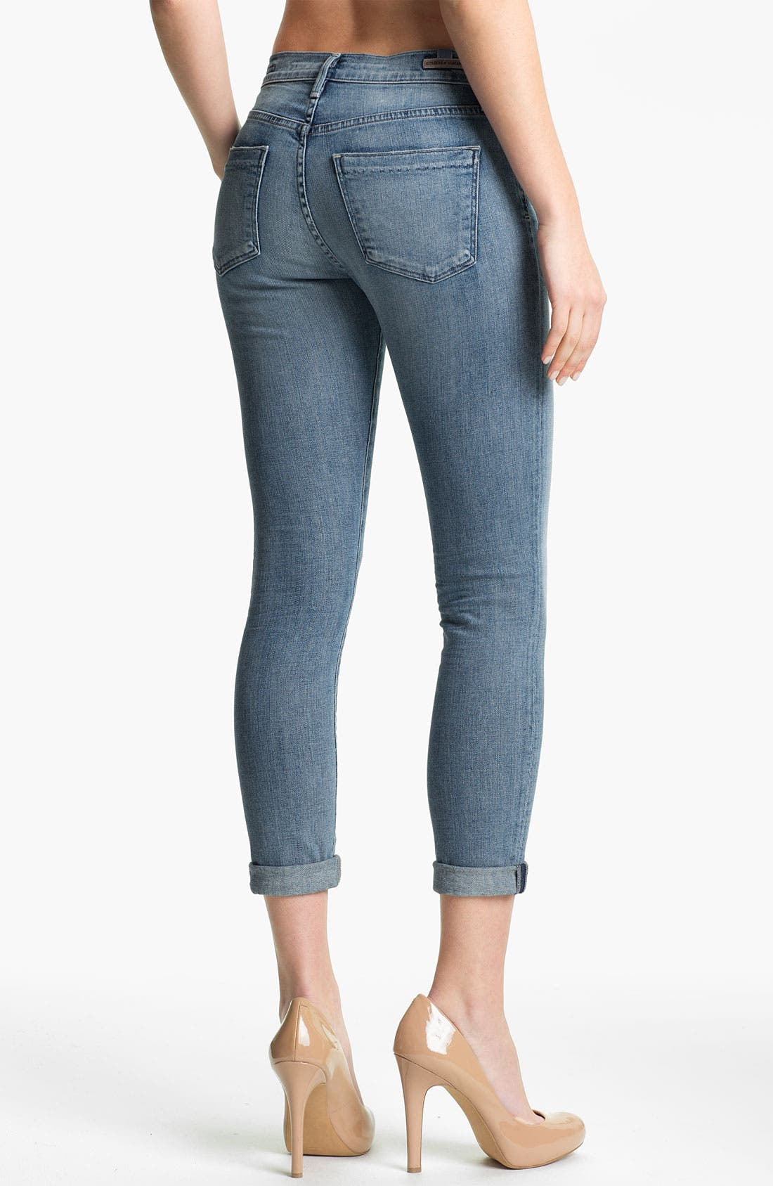 Alternate Image 2  - Citizens of Humanity 'Thompson' Skinny Stretch Jeans (Crystal)
