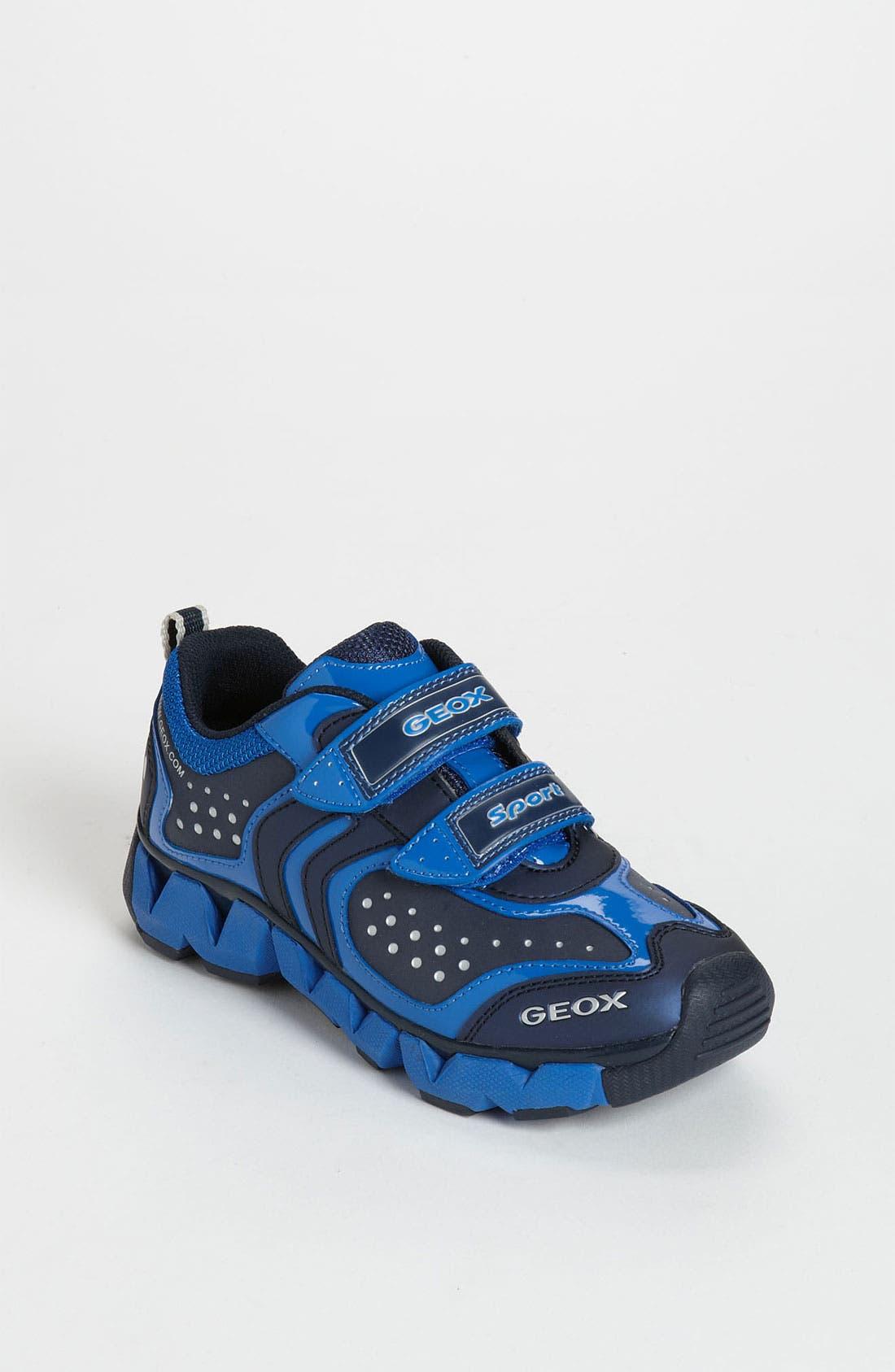 Alternate Image 1 Selected - Geox 'J Rumble' Sneaker (Toddler, Little Kid & Big Kid)