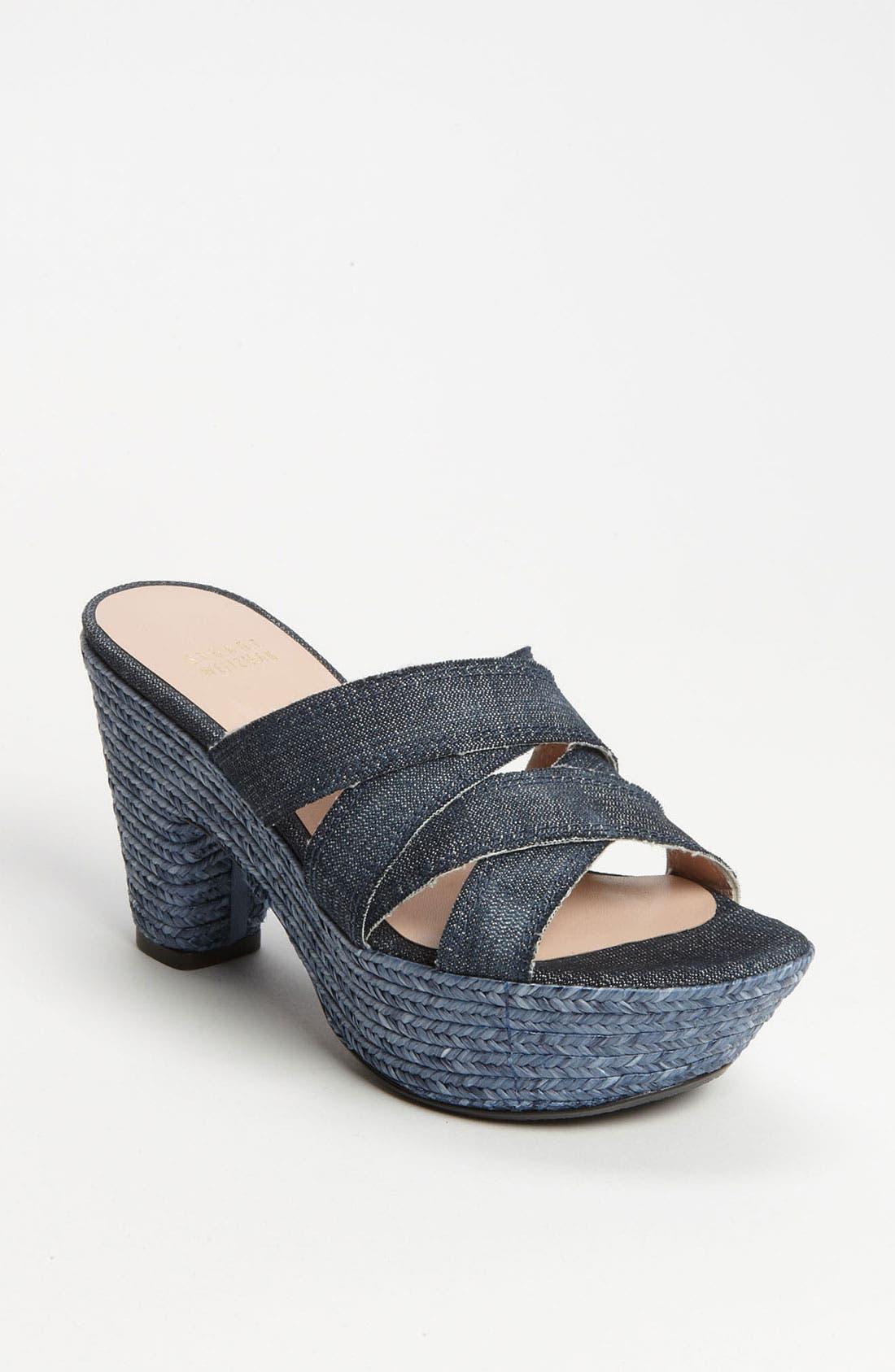 Alternate Image 1 Selected - Stuart Weitzman 'Sliderules' Sandal