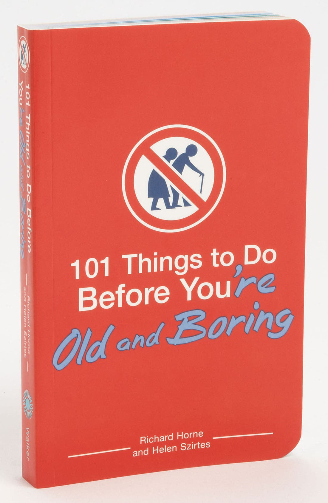 Main Image - Richard Horne & Helen Szirtes '101 Things to Do Before You're Old & Boring' Book