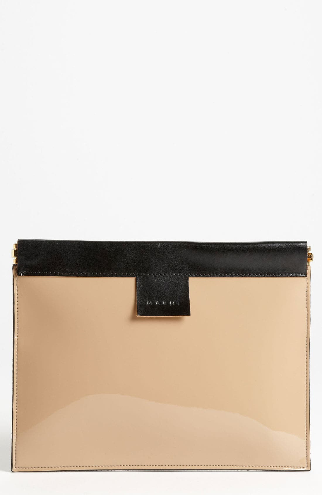 Main Image - Marni Bicolor Frame Clutch