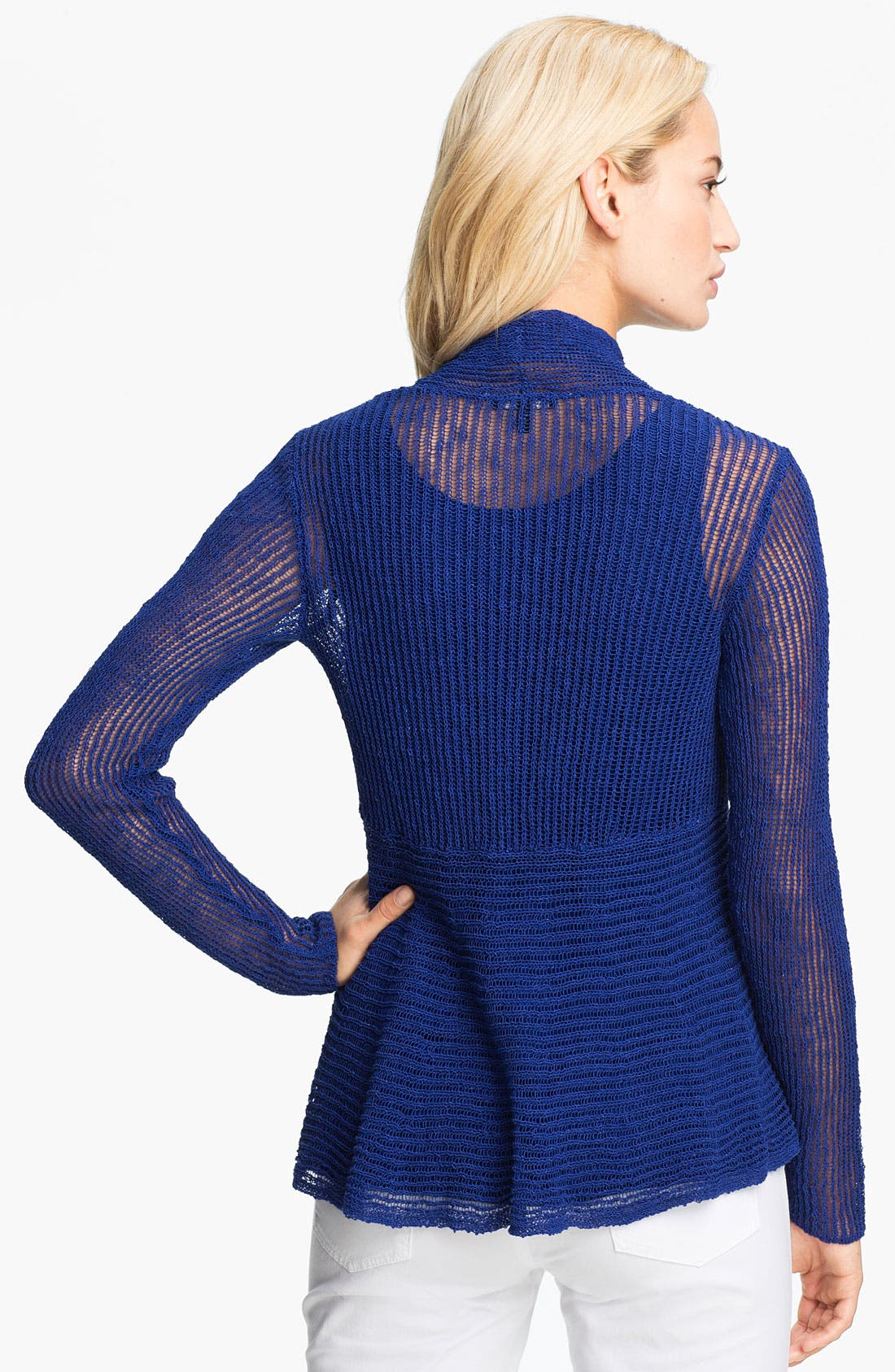 Alternate Image 2  - Eileen Fisher Open Front Knit Cardigan