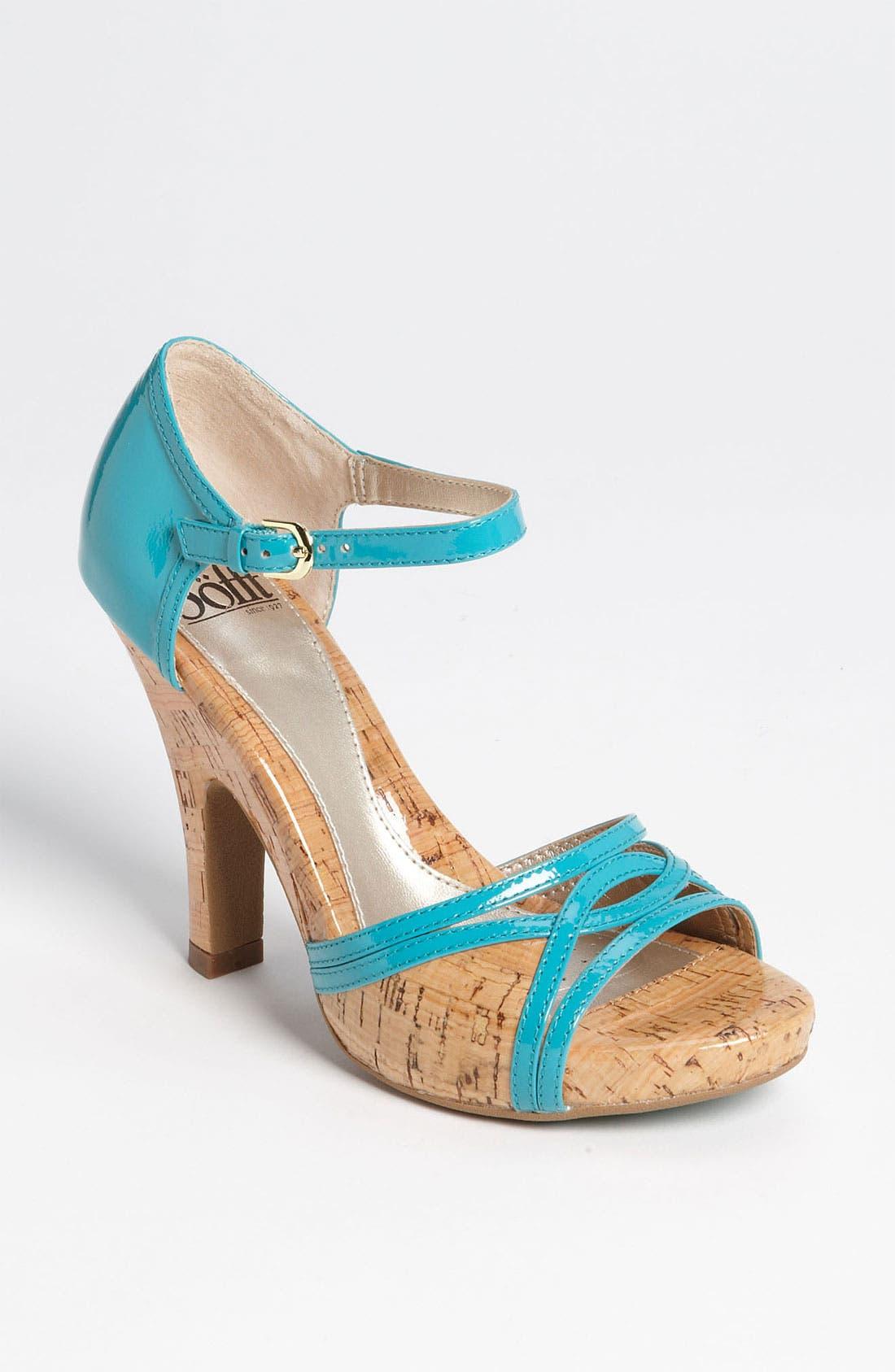 Alternate Image 1 Selected - Söfft 'Valeda' Sandal