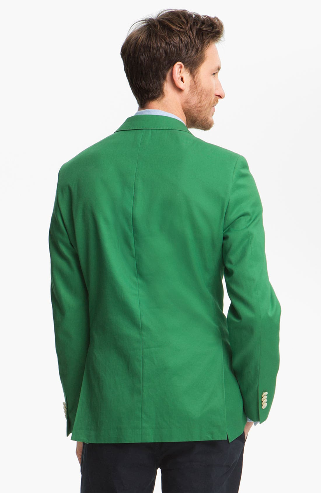 Alternate Image 2  - John W. Nordstrom Cotton Blazer