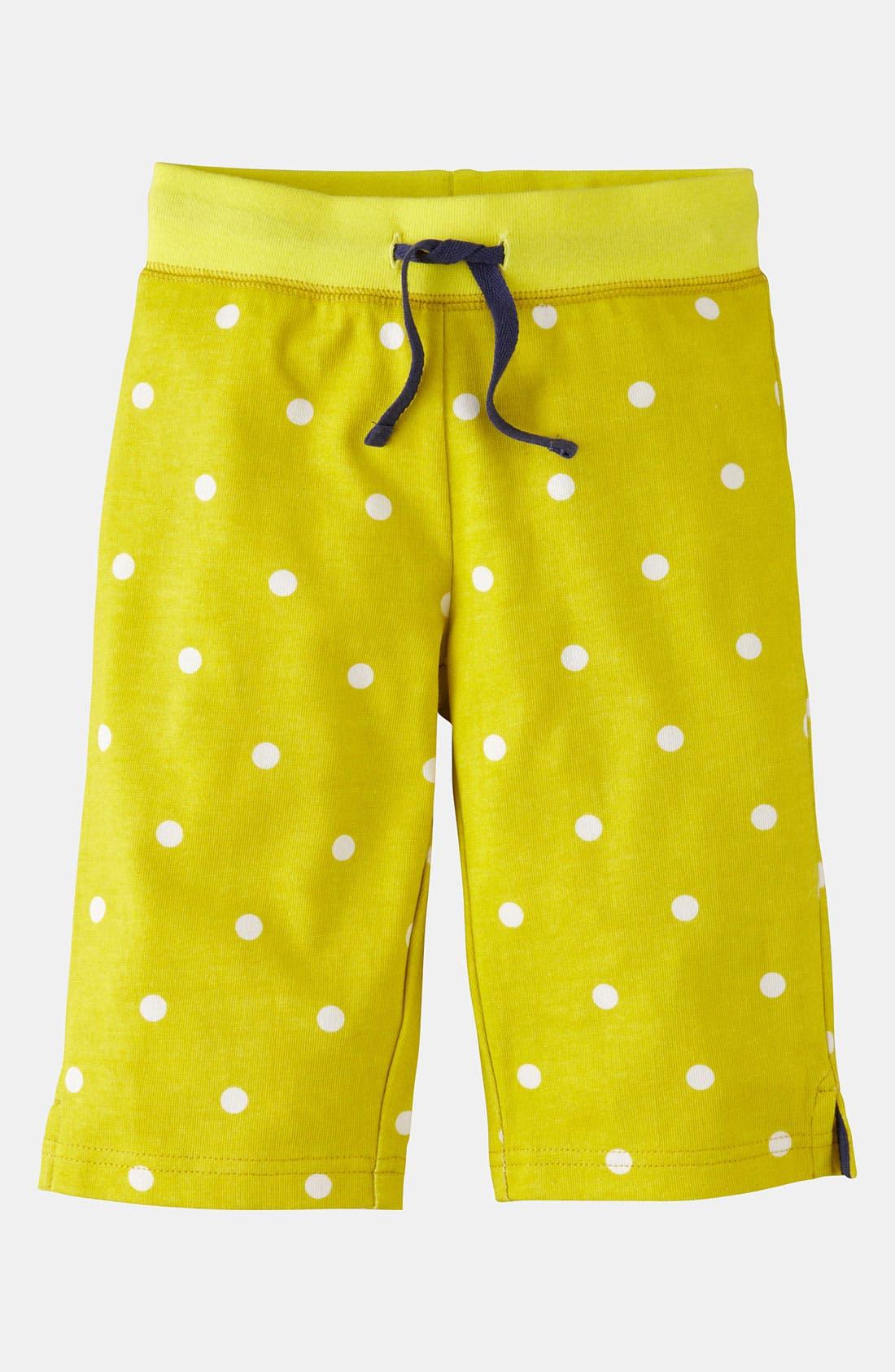 Main Image - Mini Boden Jersey Crop Pants (Little Girls & Big Girls)