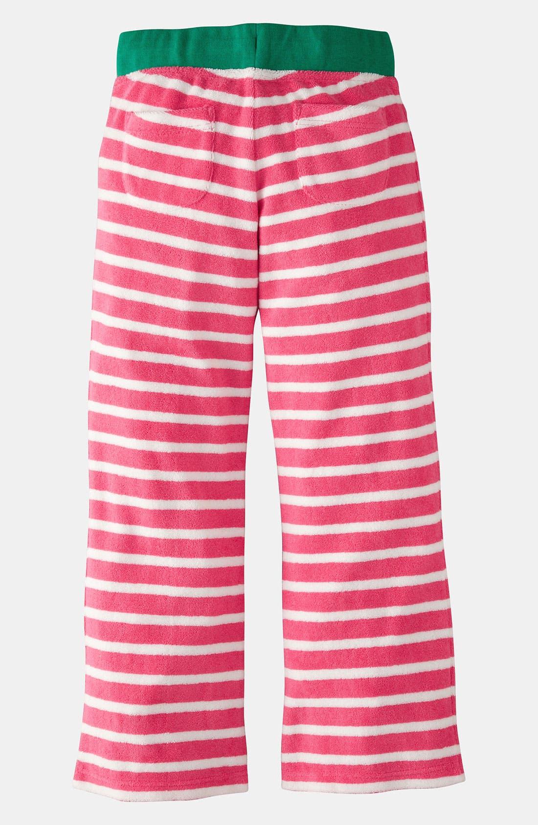 Alternate Image 2  - Mini Boden 'Toweling' Pants (Little Girls & Big Girls)