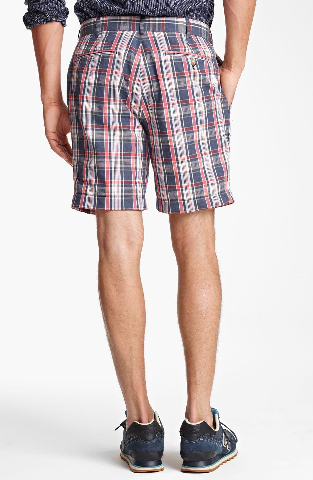 Alternate Image 2  - Jack Spade 'Sharpe' Plaid Shorts