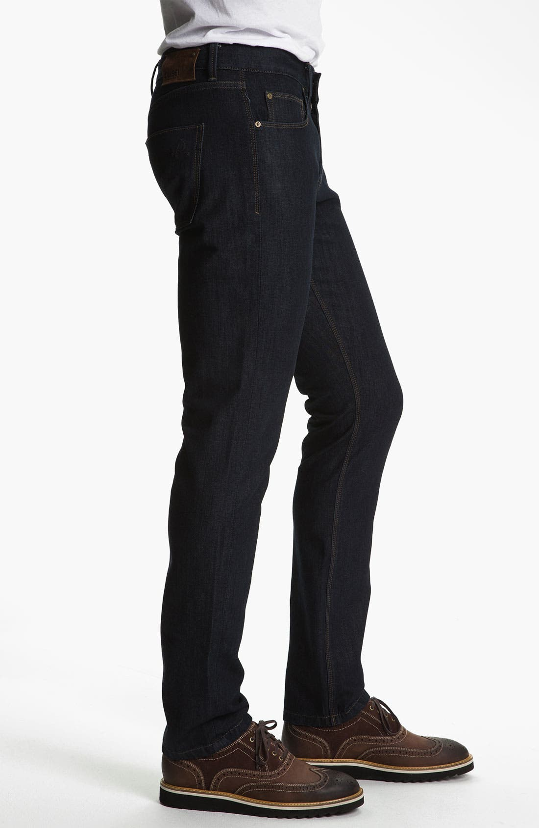 Alternate Image 3  - DL1961 'Russell' Slim Straight Leg Jeans (Viper)