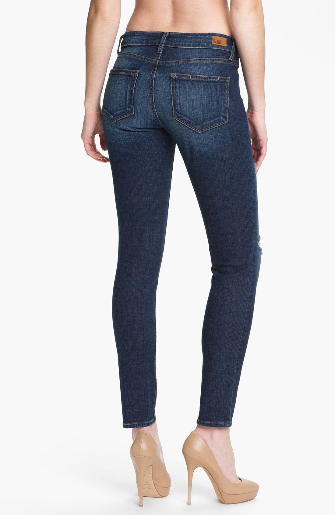 Alternate Image 2  - Paige Denim 'Verdugo' Stretch Skinny Jeans (Decker)