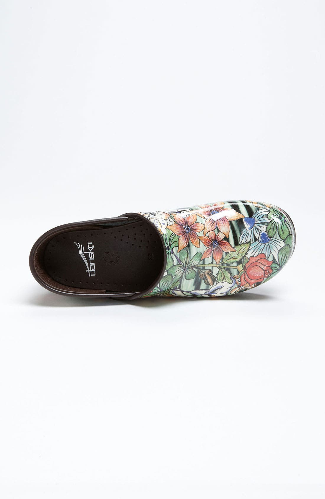 Alternate Image 3  - Dansko 'Professional - Tiger Lily' Patent Clog (Limited Edition)